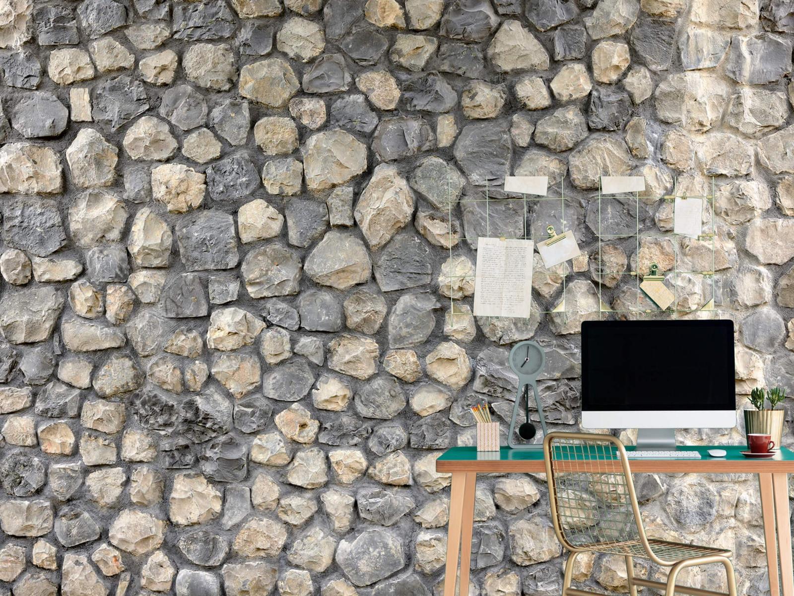 Steen behang - Breukstenen - Wallexclusive - Ontvangstruimte 11