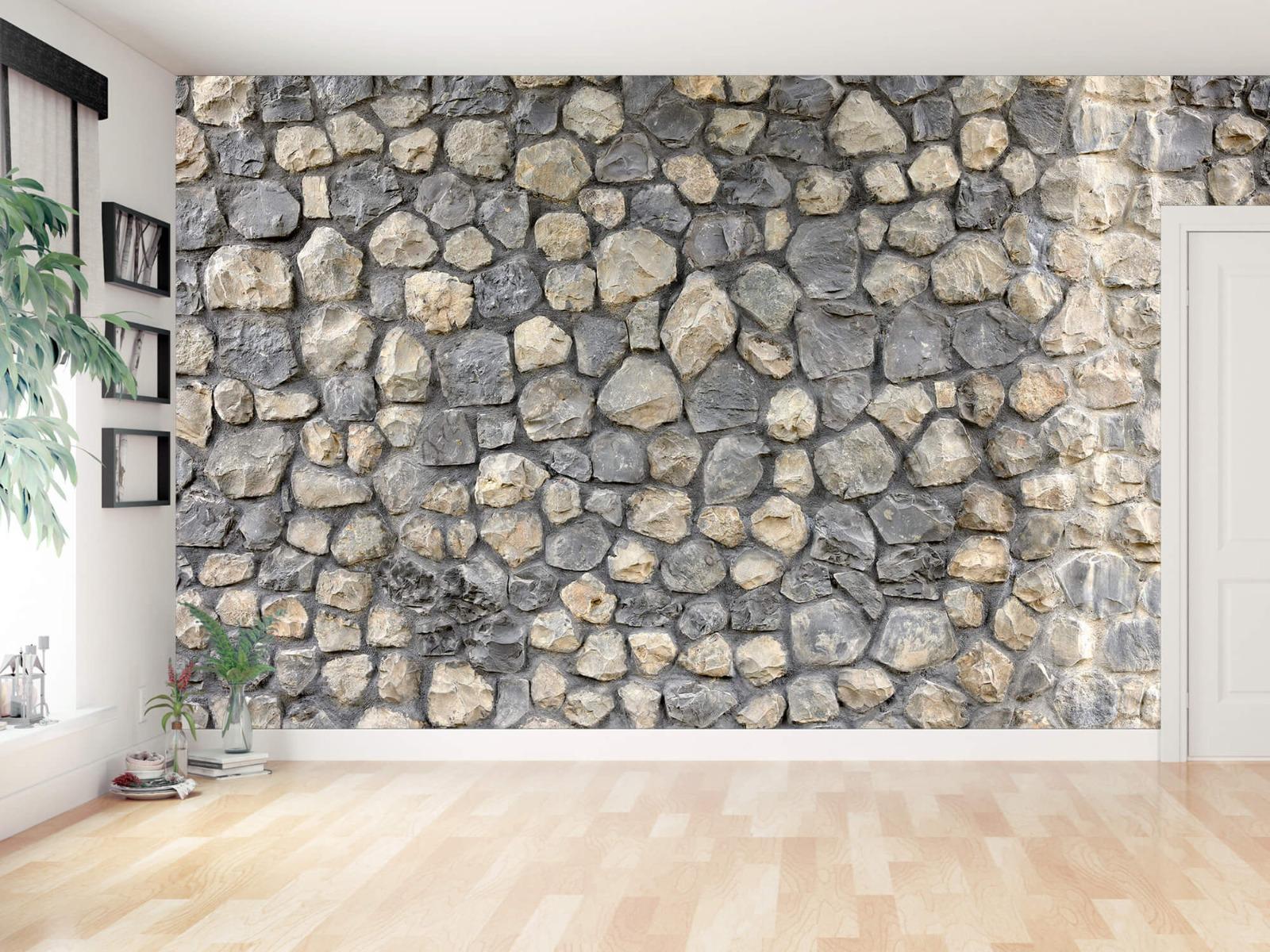 Steen behang - Breukstenen - Wallexclusive - Ontvangstruimte 14