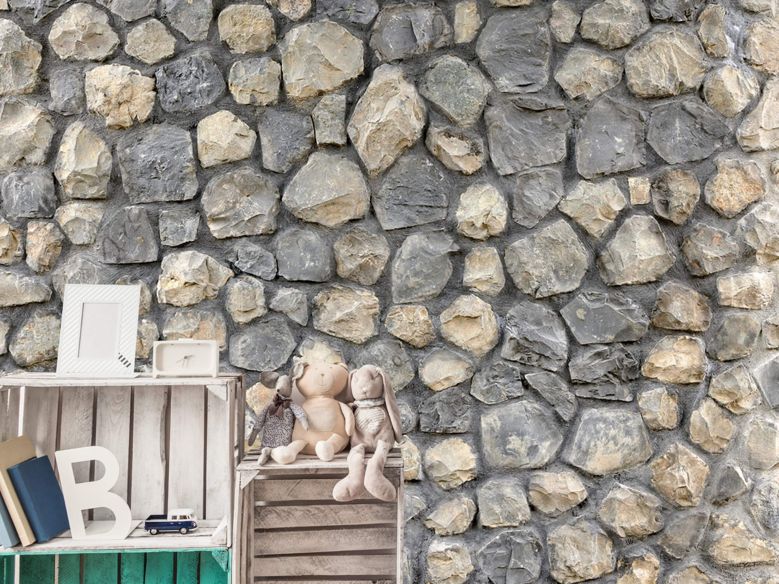 Steen behang - Breukstenen - Wallexclusive - Ontvangstruimte 19