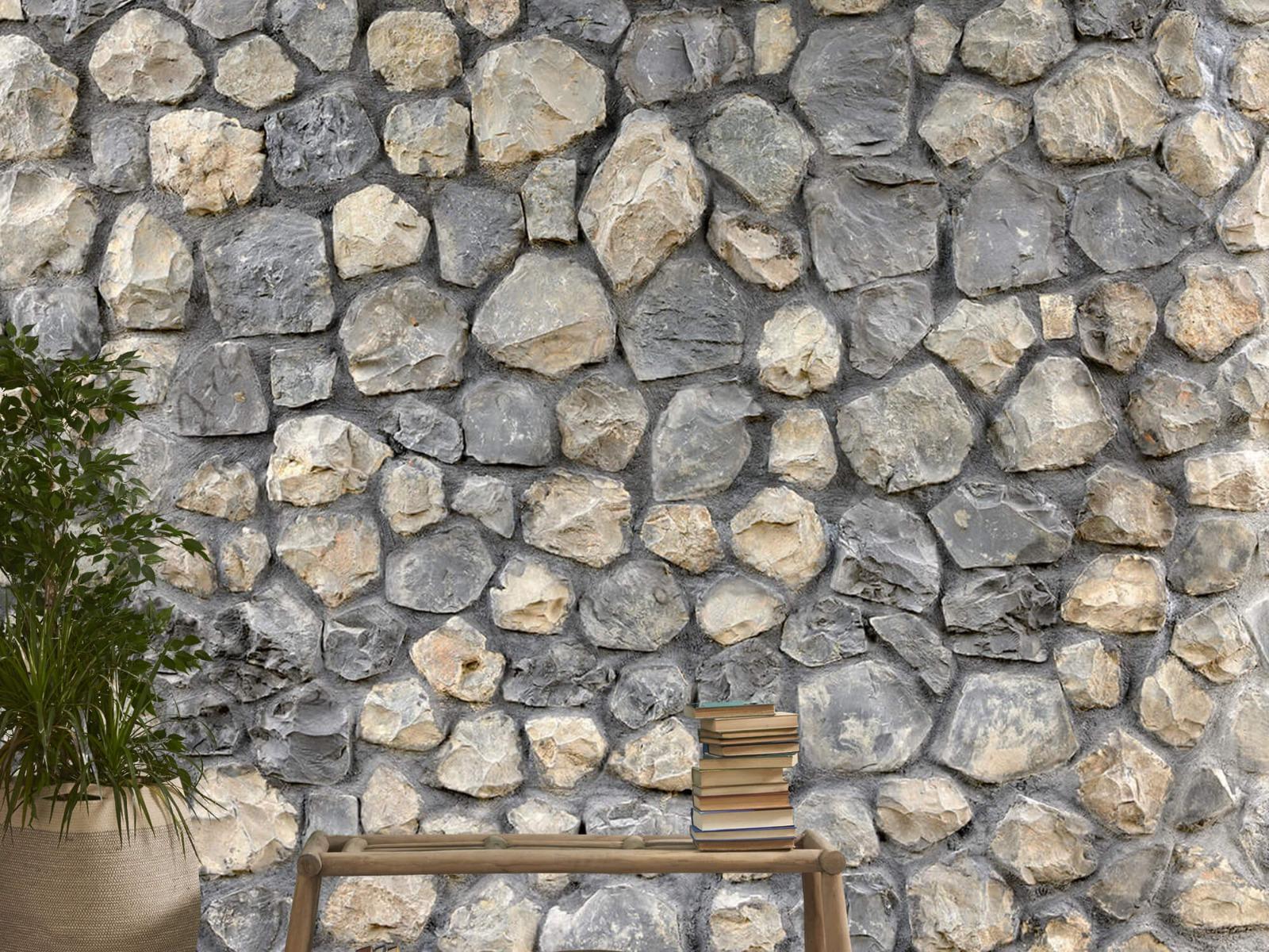 Steen behang - Breukstenen - Wallexclusive - Ontvangstruimte 20