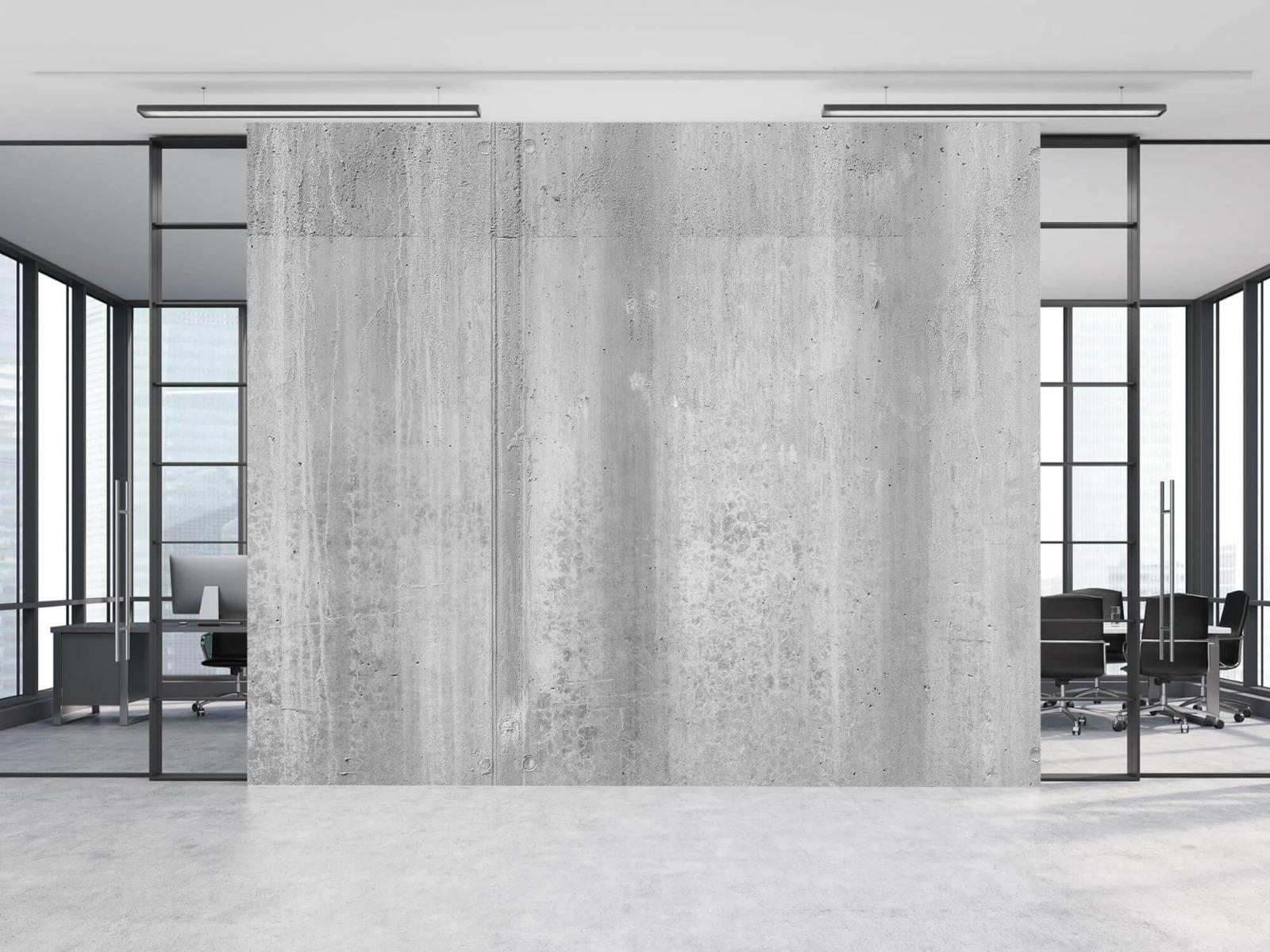 Betonlook behang - Beton zwart-wit - Wallexclusive - Kantoor 12
