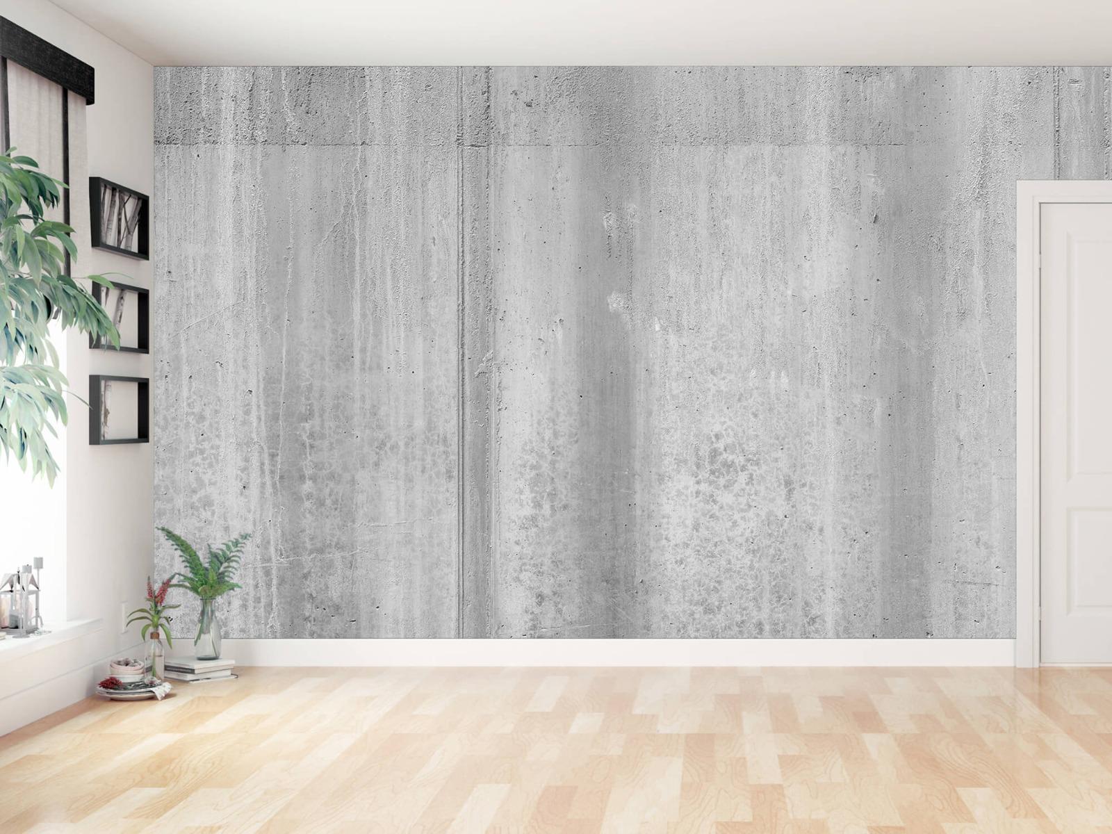 Betonlook behang - Beton zwart-wit - Wallexclusive - Kantoor 15