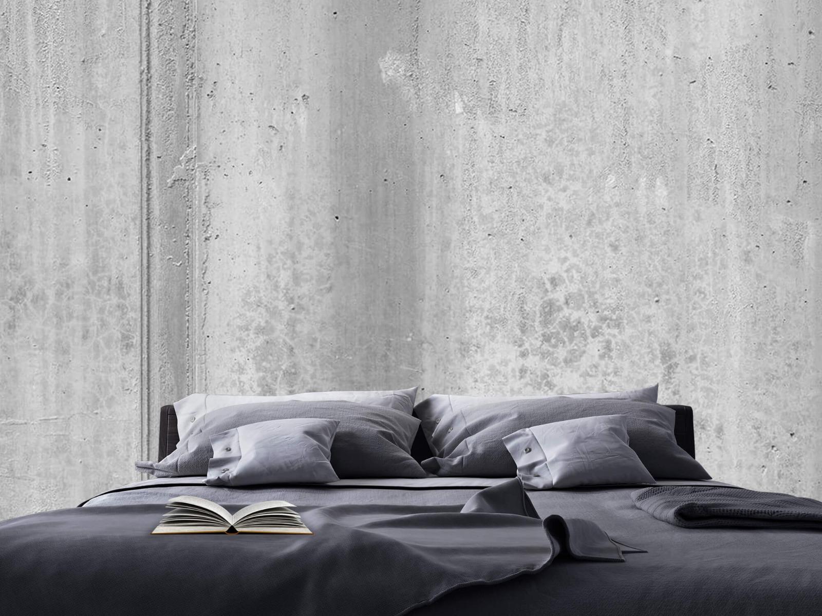 Betonlook behang - Beton zwart-wit - Wallexclusive - Kantoor 19
