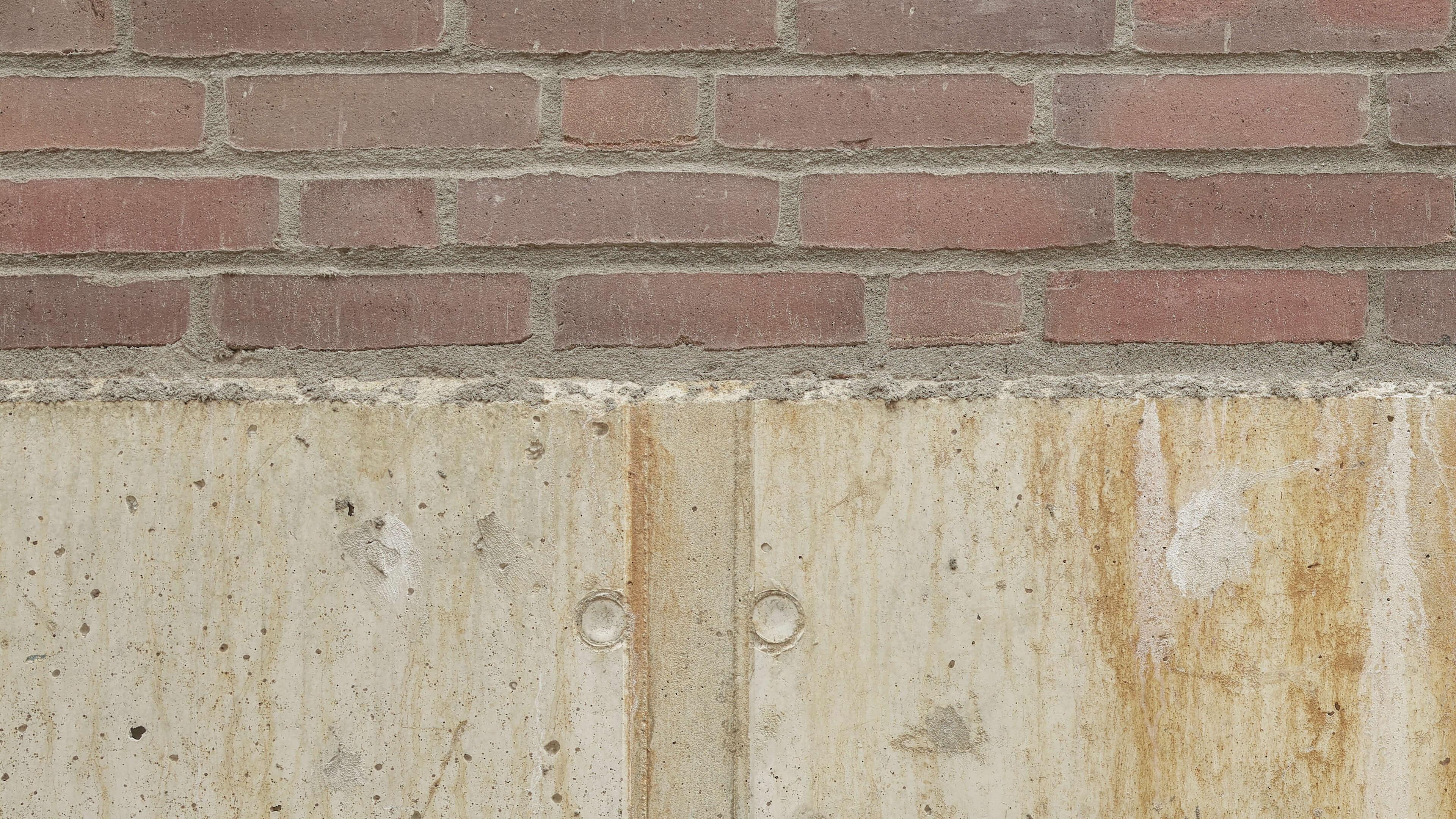 Betonlook behang - Beton en bakstenen - Wallexclusive - Woonkamer 7