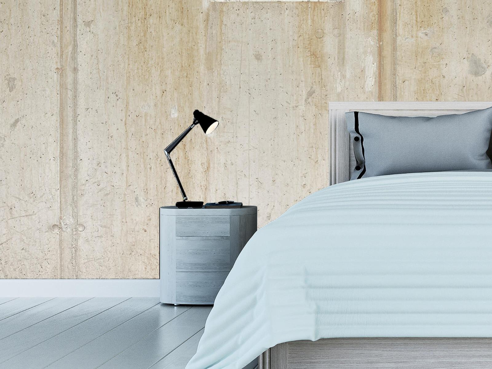 Betonlook behang - Beton en bakstenen - Wallexclusive - Woonkamer 14