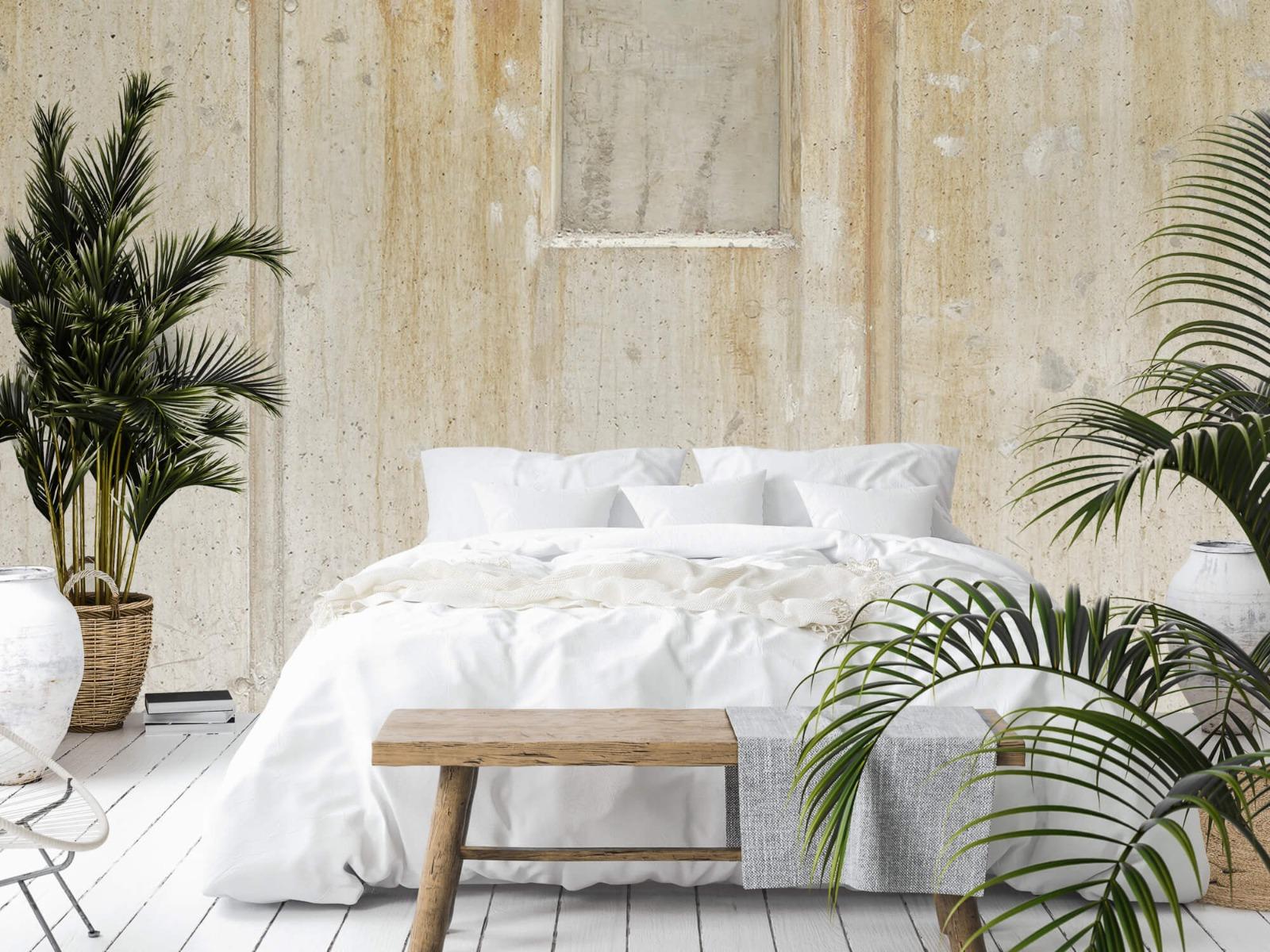 Betonlook behang - Beton en bakstenen - Wallexclusive - Woonkamer 15