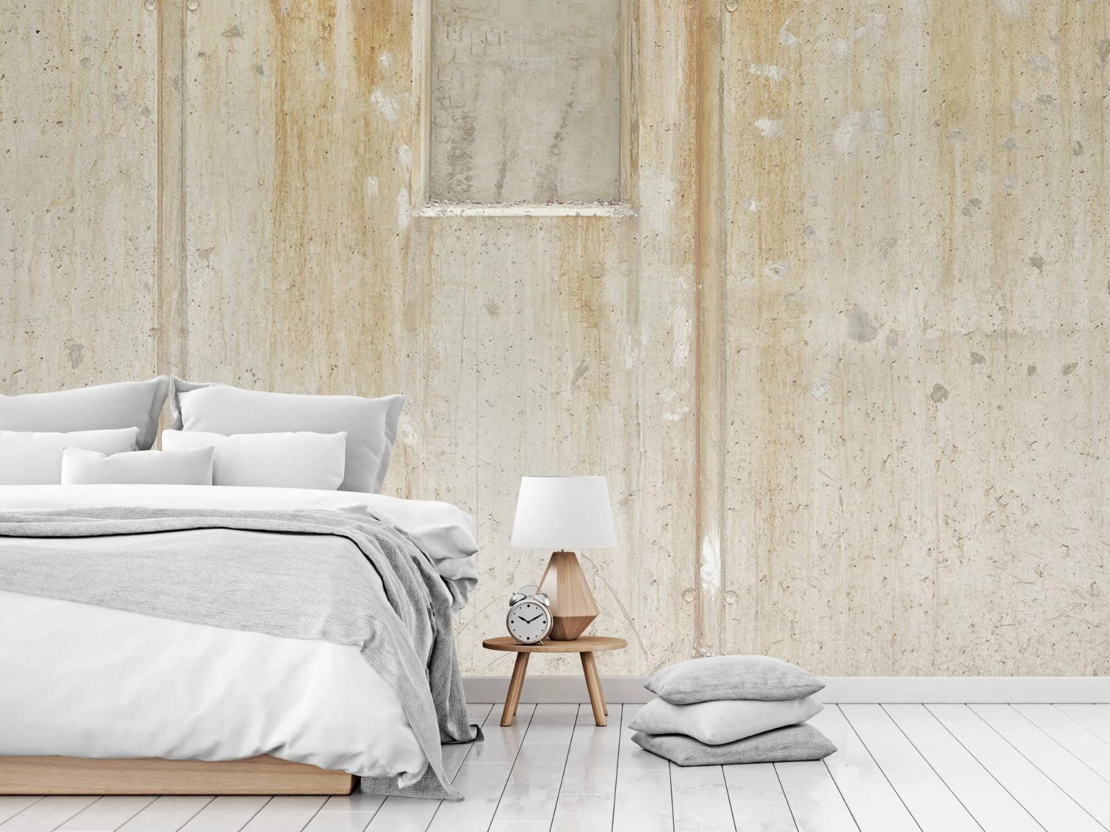 Betonlook behang - Beton en bakstenen - Wallexclusive - Woonkamer 16