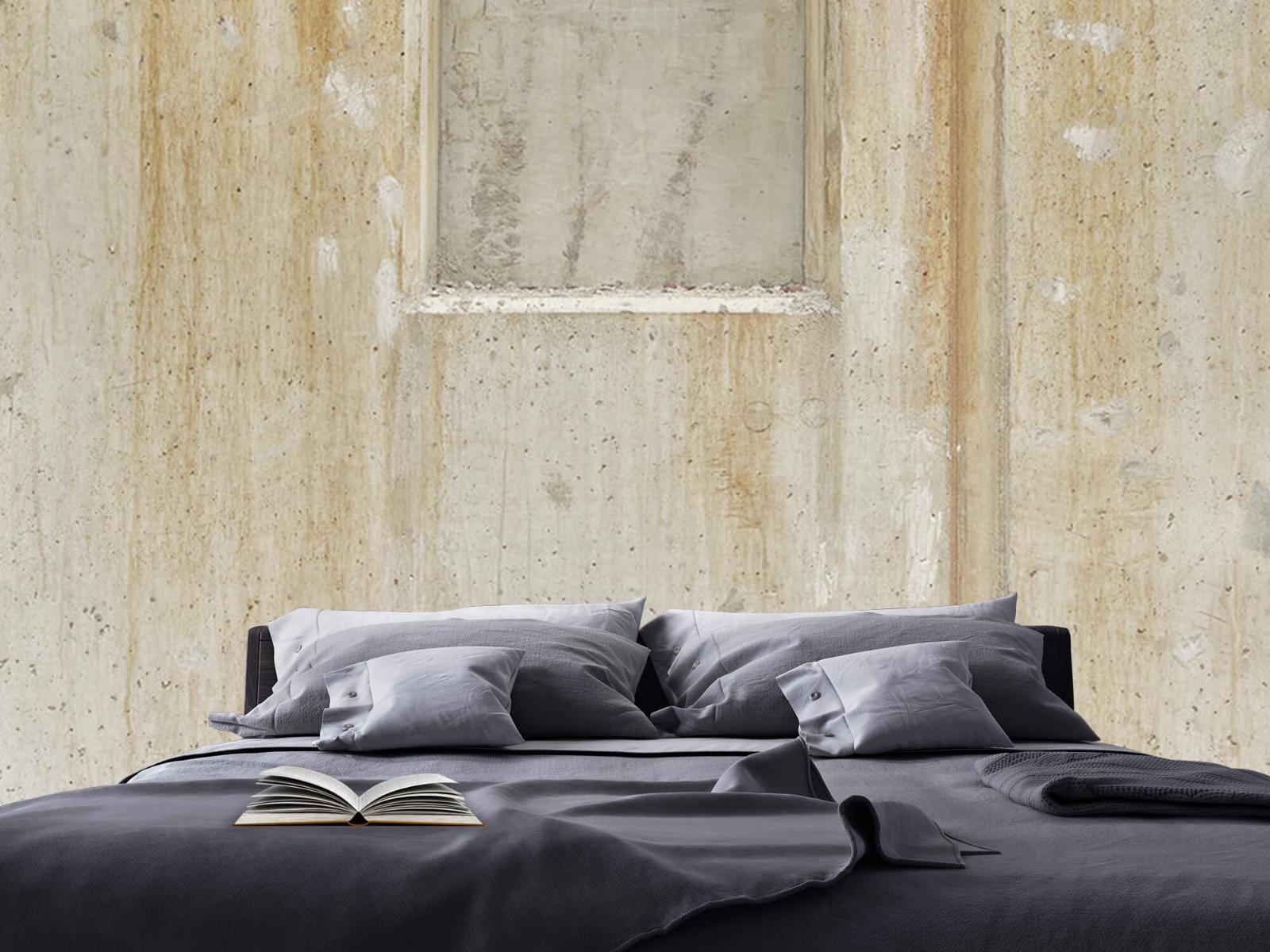 Betonlook behang - Beton en bakstenen - Wallexclusive - Woonkamer 18