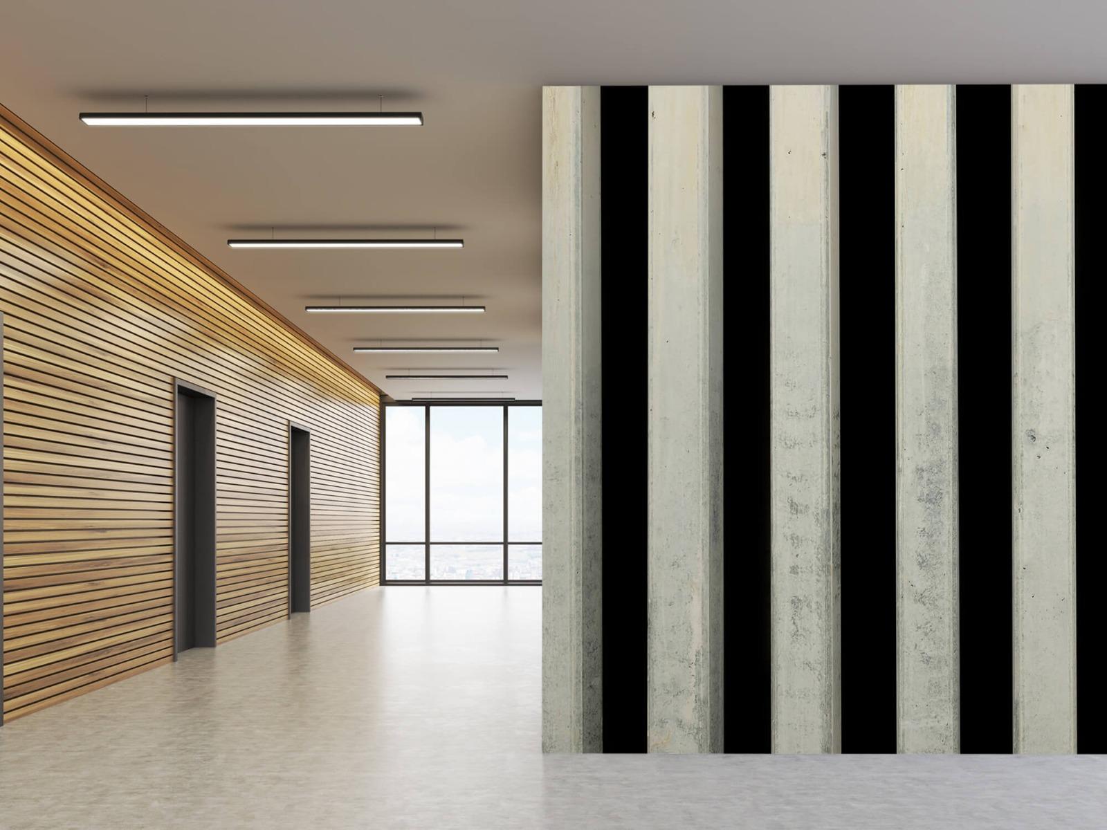 Elementen - Betonnen pilaren - Wallexclusive - Ontvangstruimte 1