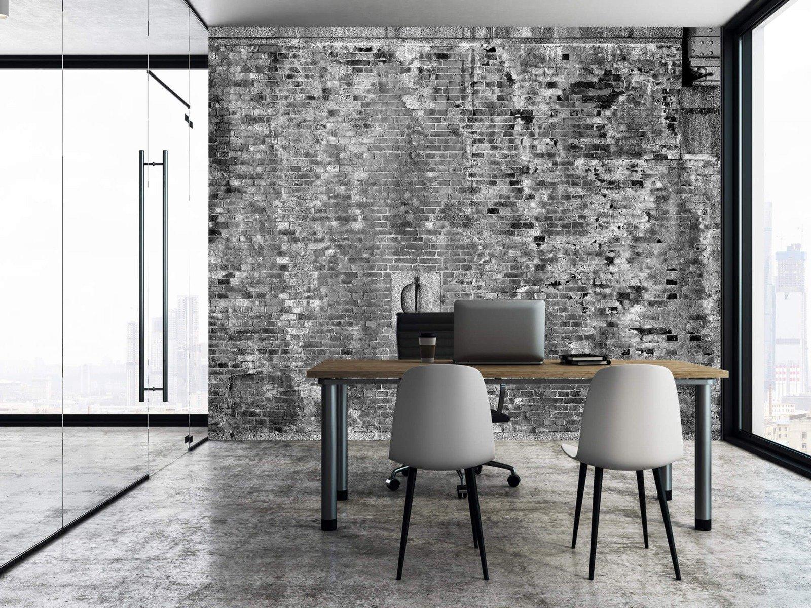 Steen behang - Verweerde muur - Tienerkamer 6