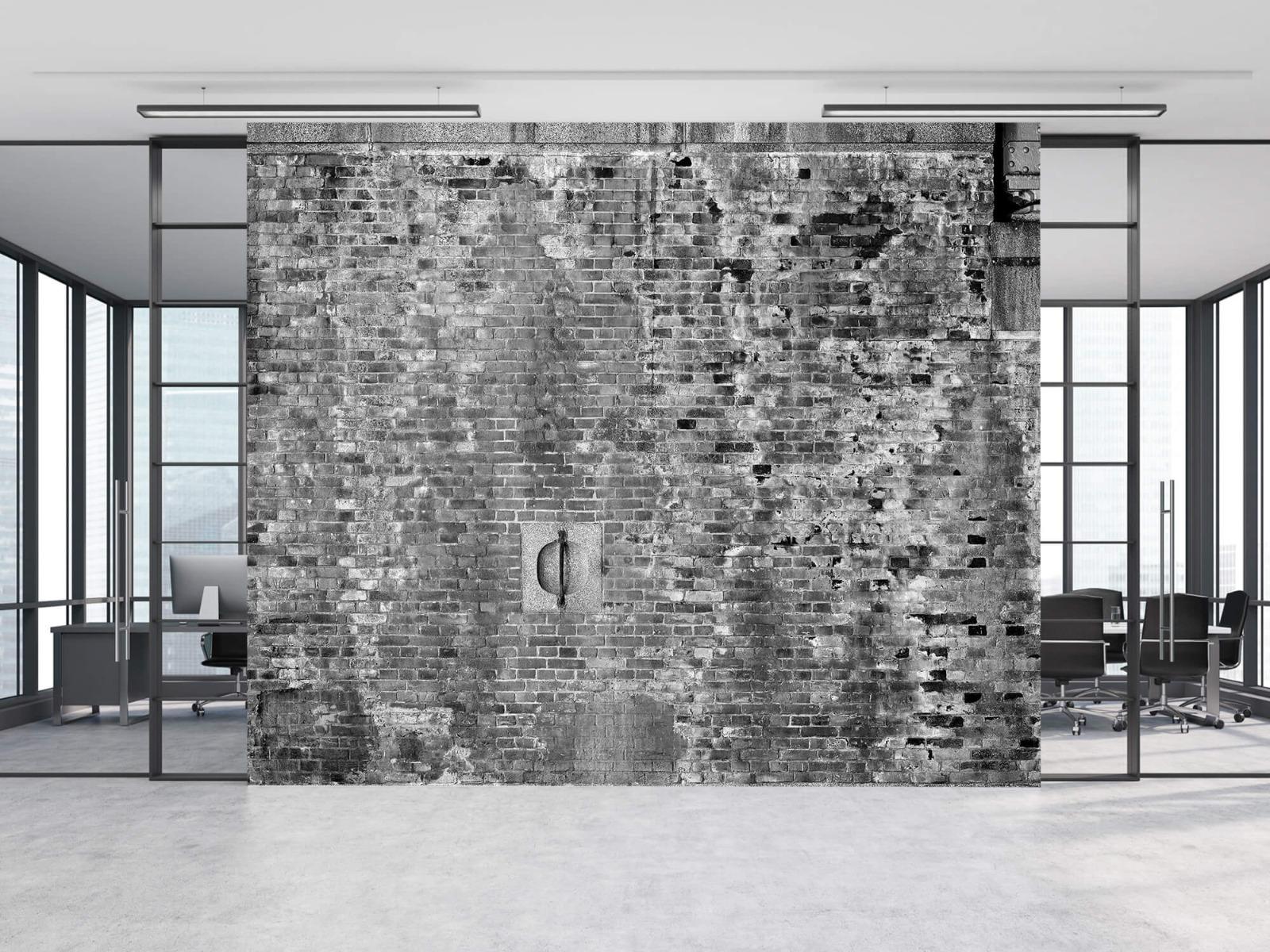 Steen behang - Verweerde muur - Tienerkamer 11