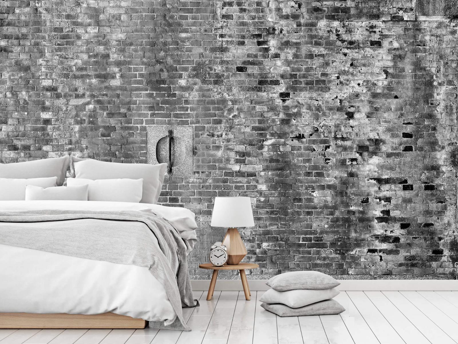 Steen behang - Verweerde muur - Tienerkamer 16