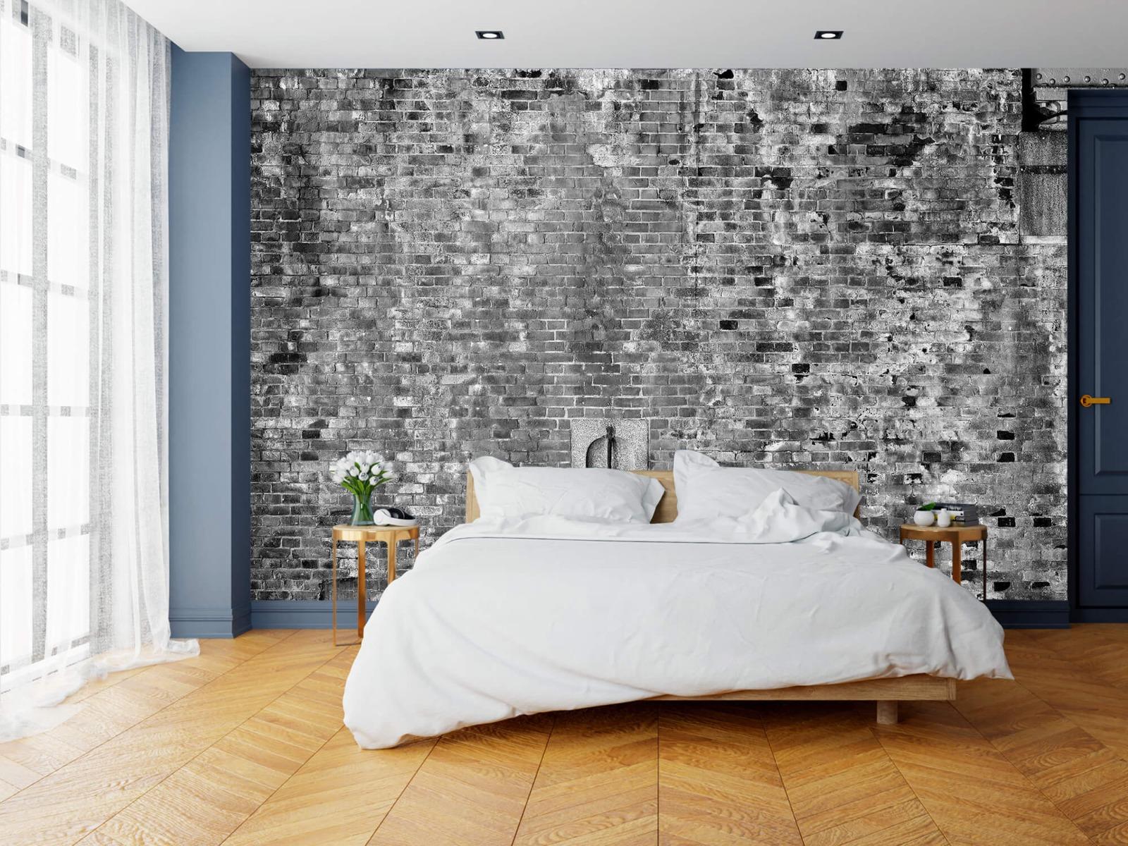 Steen behang - Verweerde muur - Tienerkamer 17