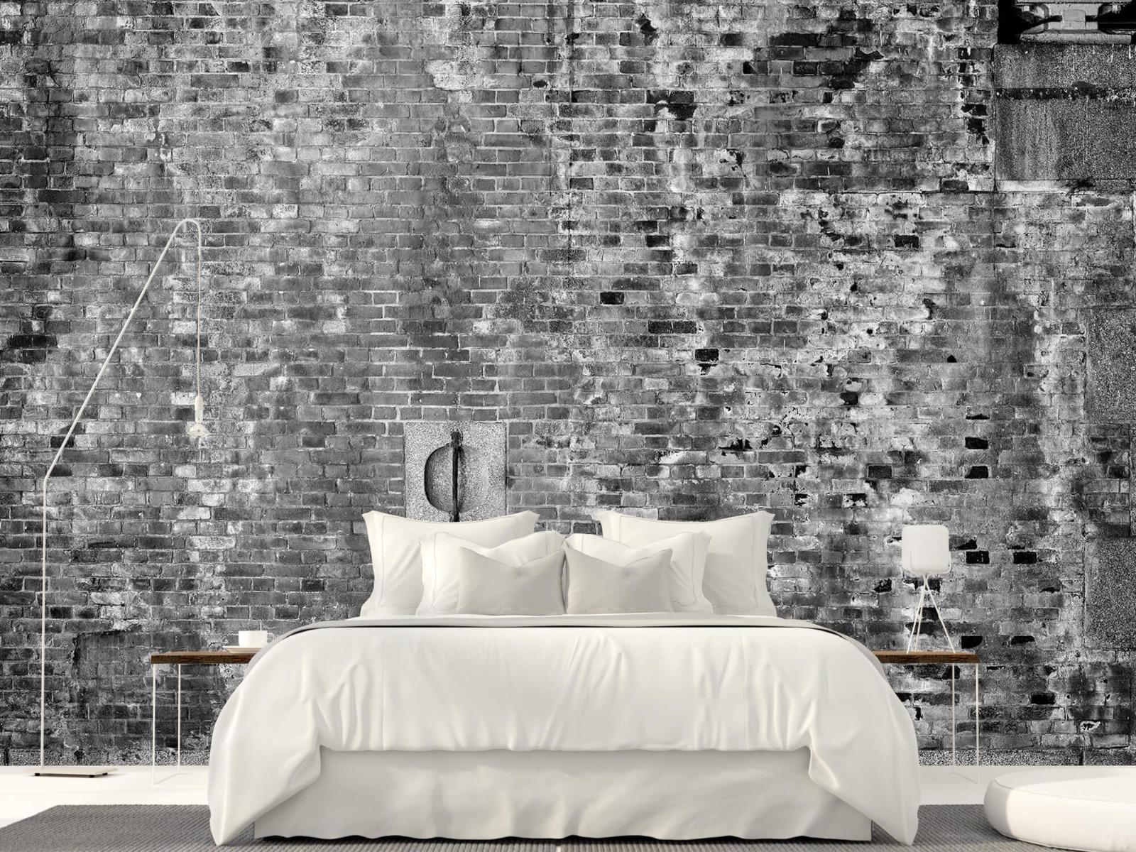 Steen behang - Verweerde muur - Tienerkamer 1