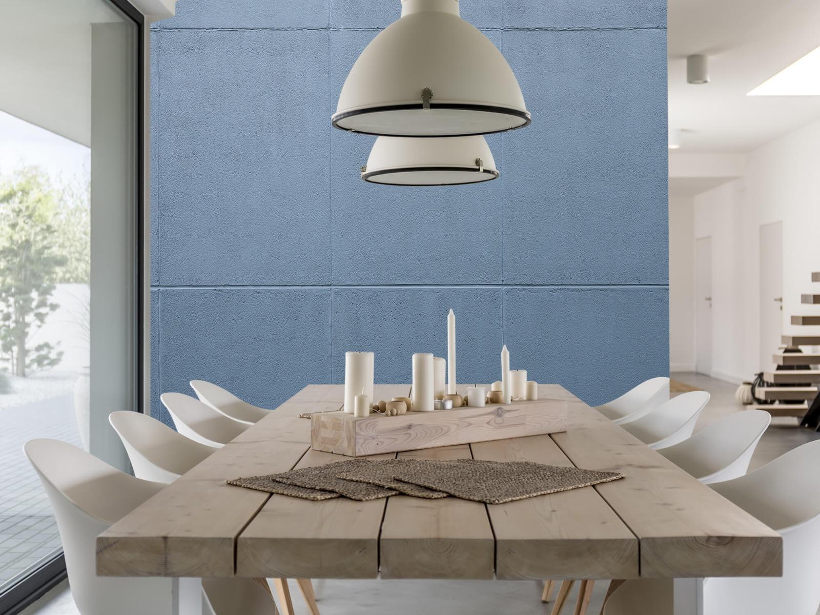 Betonlook behang - Geschilderde betonnen platen - Kantoor 7