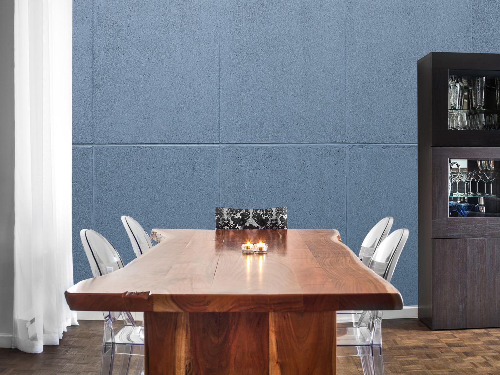 Betonlook behang - Geschilderde betonnen platen - Kantoor 8