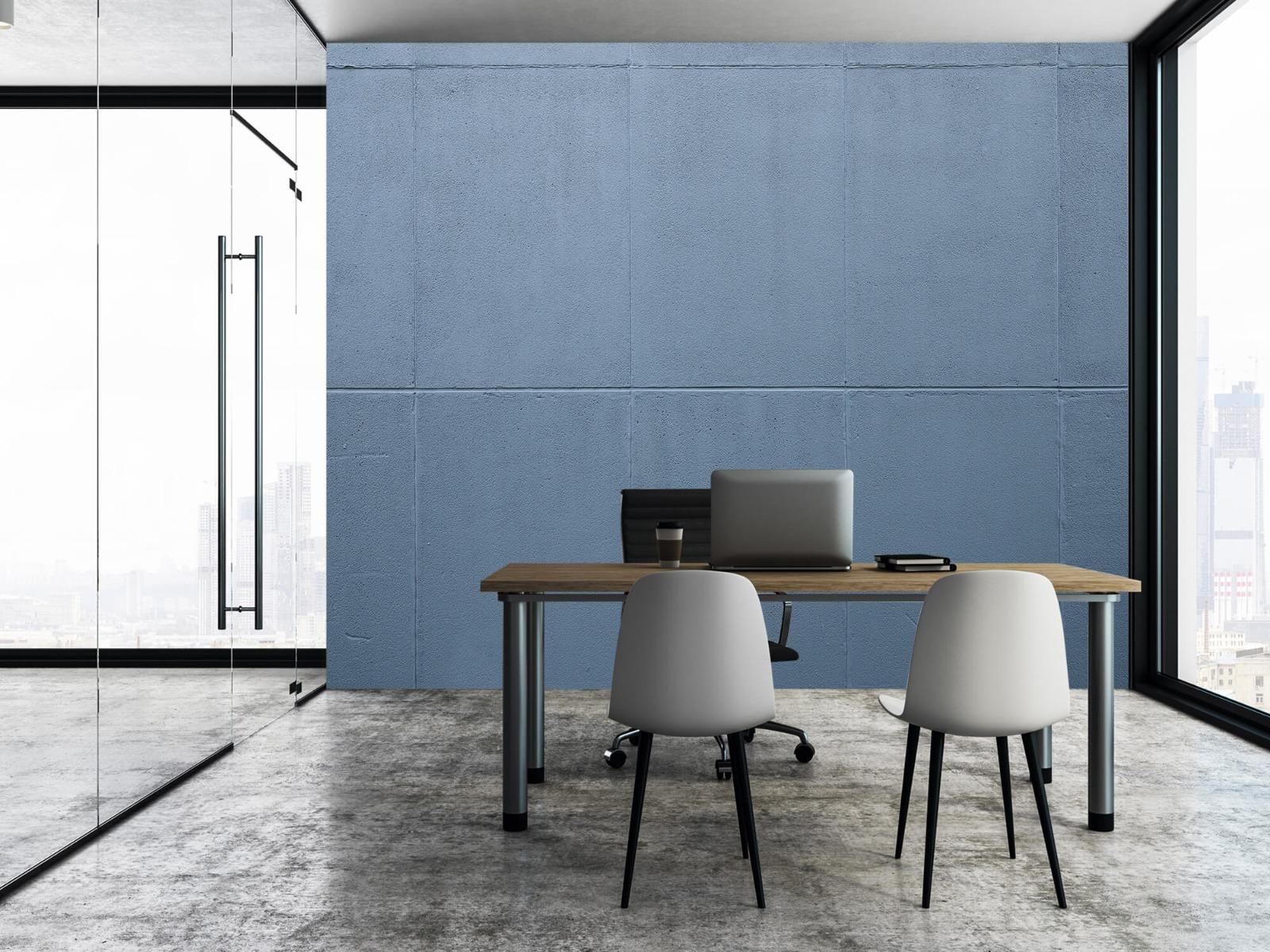 Betonlook behang - Geschilderde betonnen platen - Kantoor 9