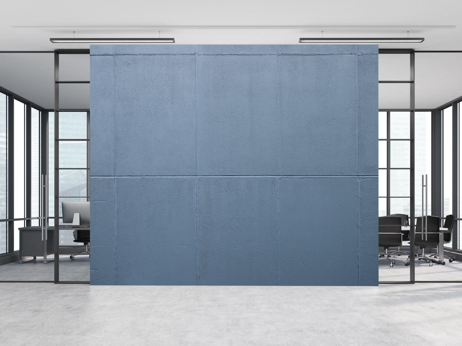 Betonlook behang - Geschilderde betonnen platen - Kantoor 12