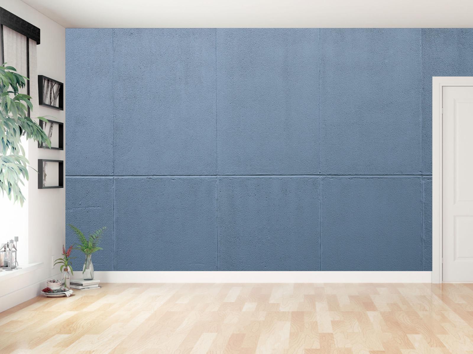 Betonlook behang - Geschilderde betonnen platen - Kantoor 15