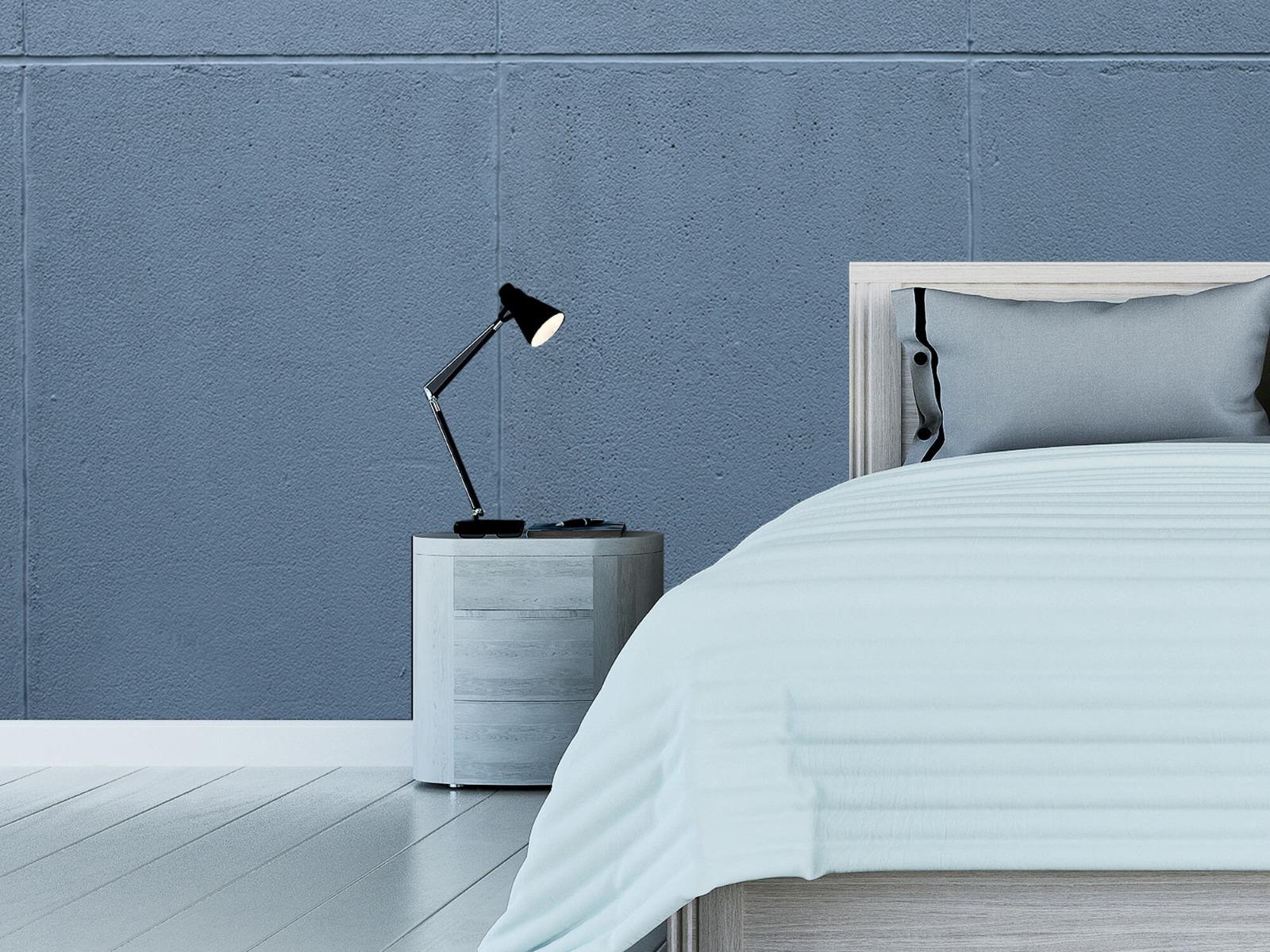 Betonlook behang - Geschilderde betonnen platen - Kantoor 16