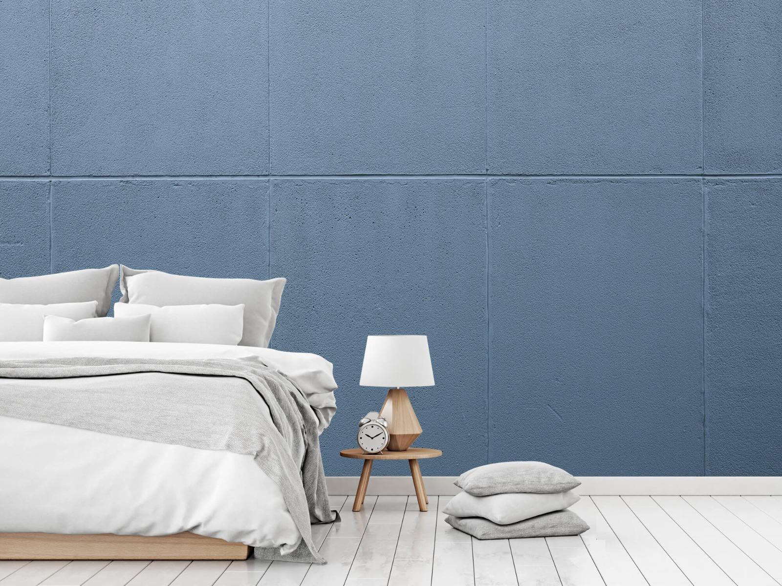 Betonlook behang - Geschilderde betonnen platen - Kantoor 18