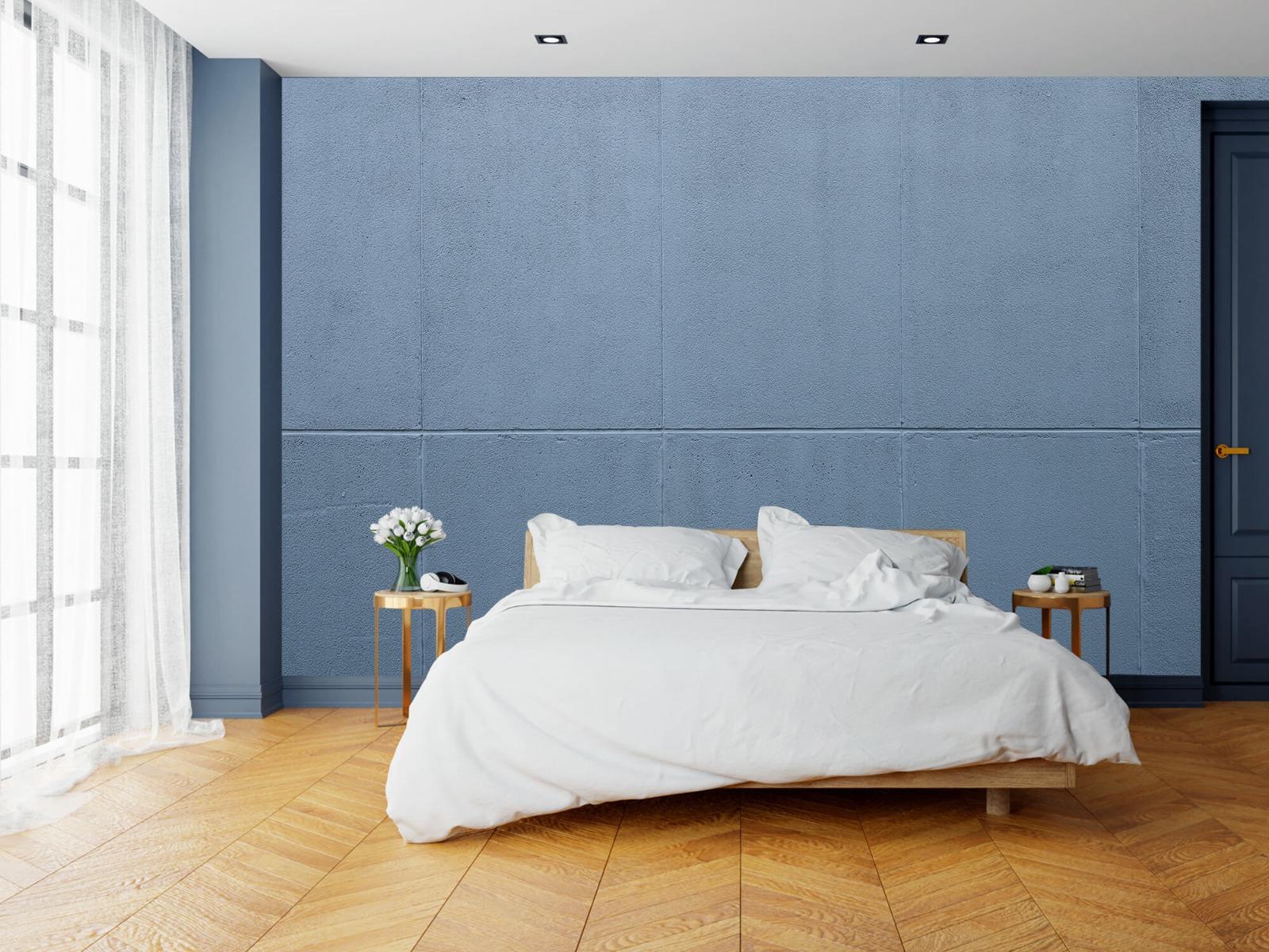 Betonlook behang - Geschilderde betonnen platen - Kantoor 19