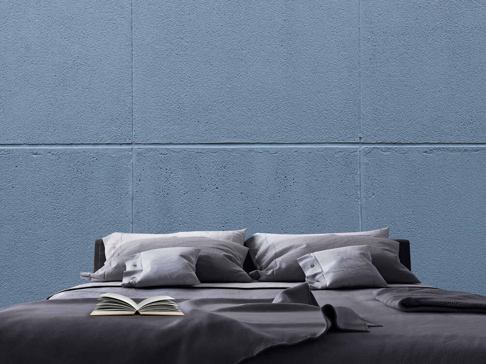Betonlook behang - Geschilderde betonnen platen - Kantoor 20
