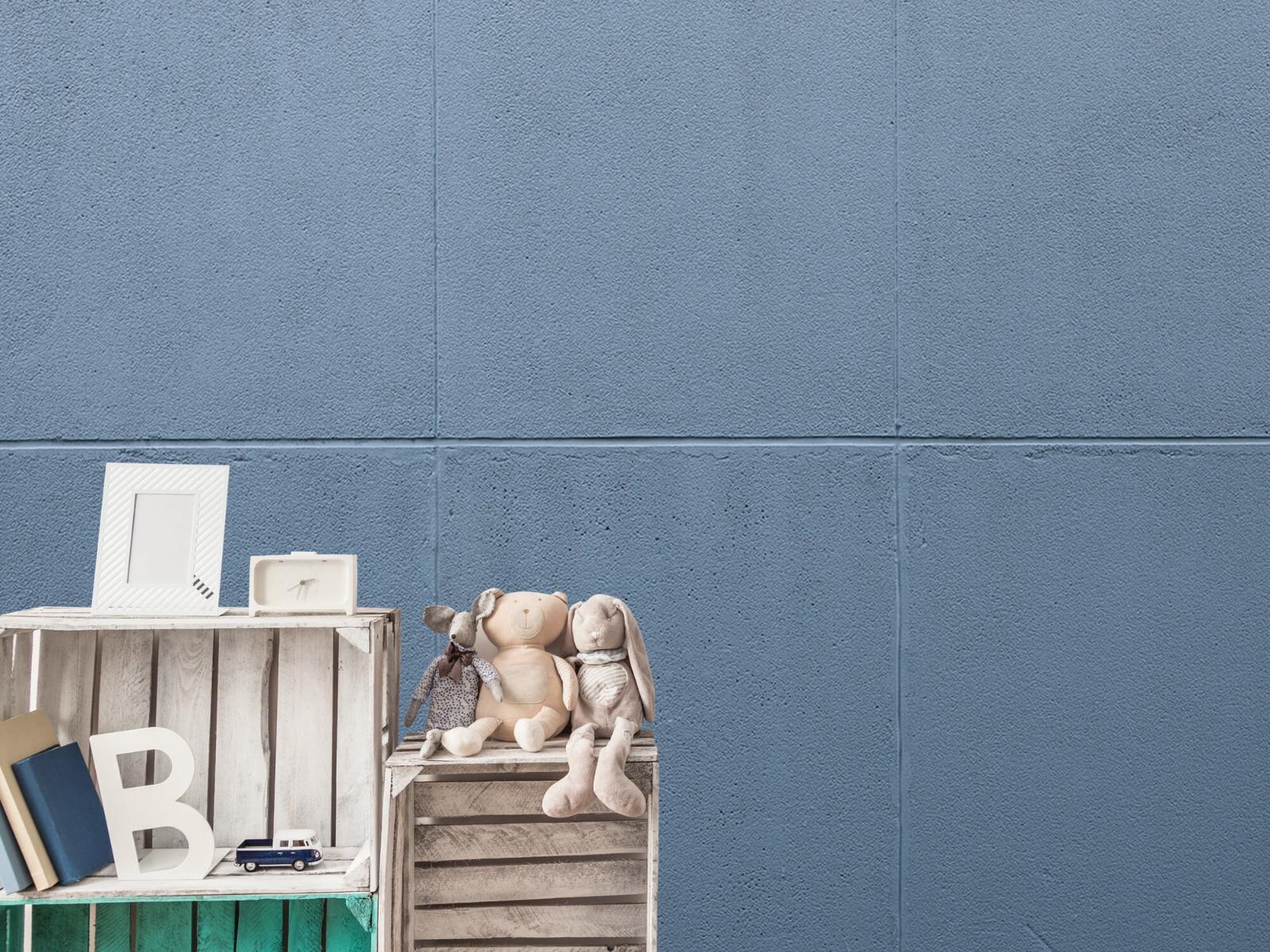 Betonlook behang - Geschilderde betonnen platen - Kantoor 4
