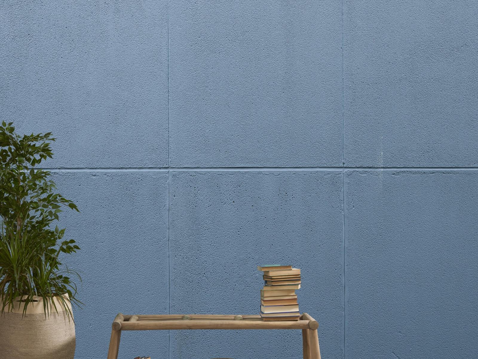 Betonlook behang - Geschilderde betonnen platen - Kantoor 21