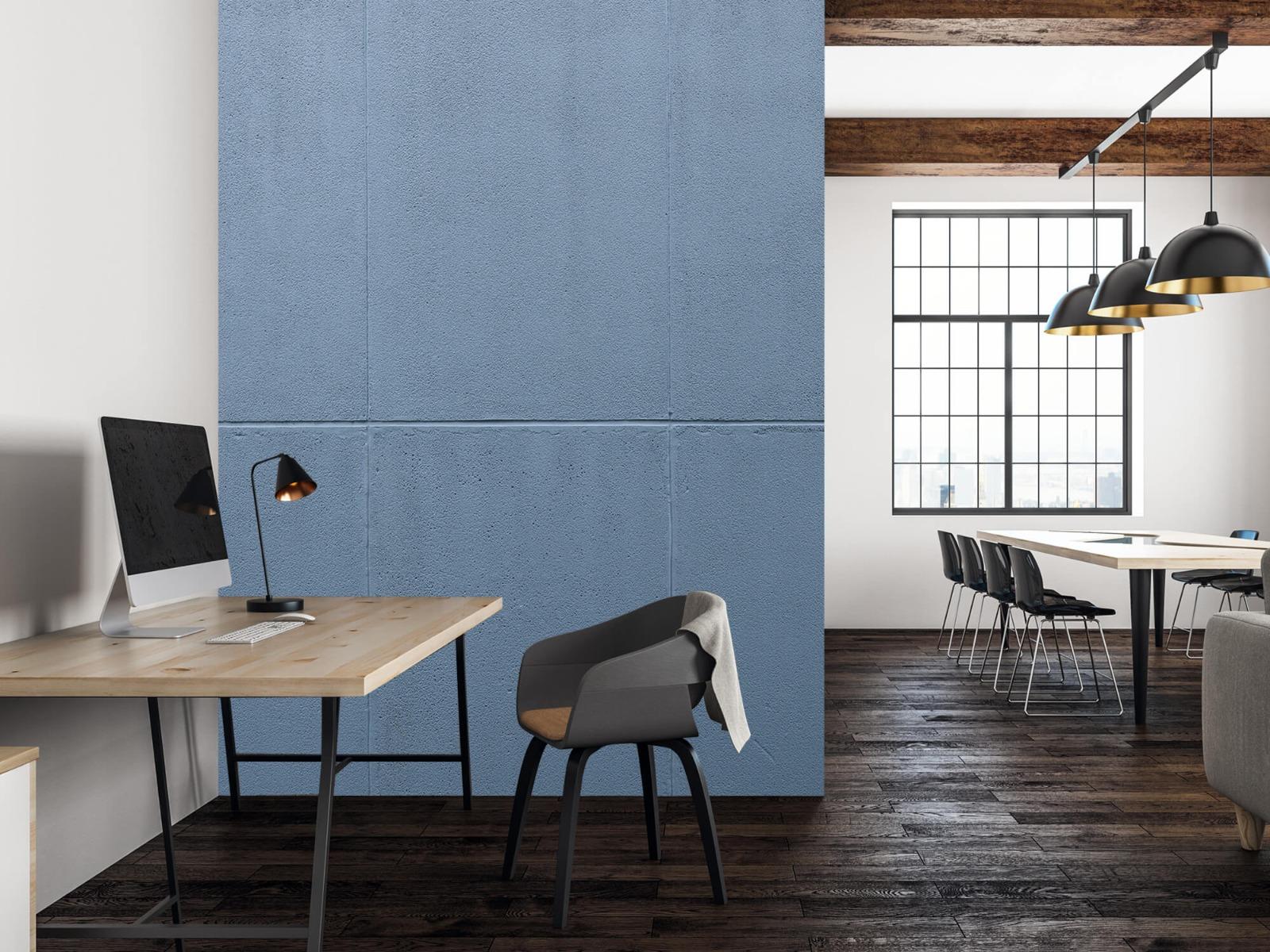 Betonlook behang - Geschilderde betonnen platen - Kantoor 23