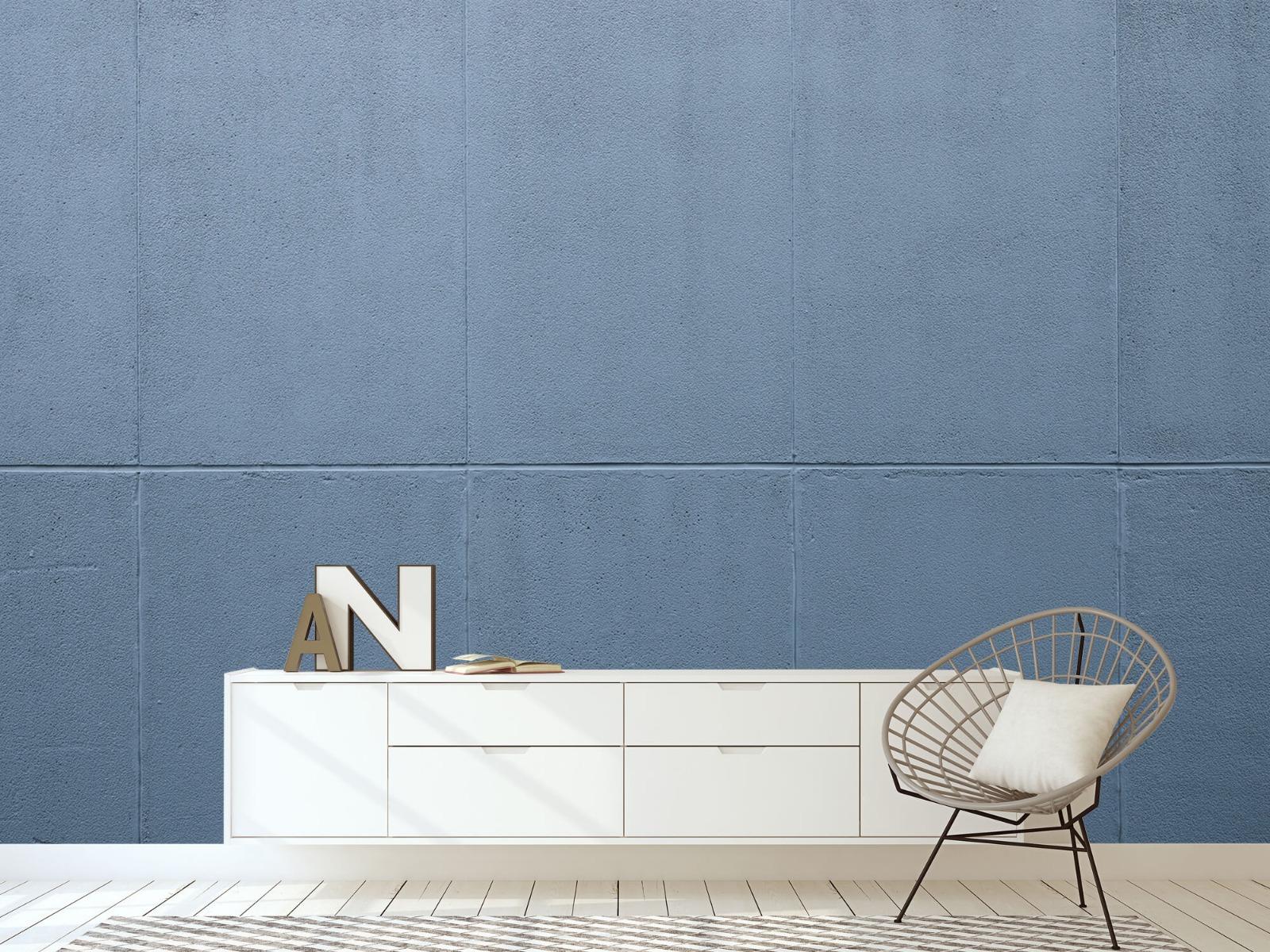 Betonlook behang - Geschilderde betonnen platen - Kantoor 5