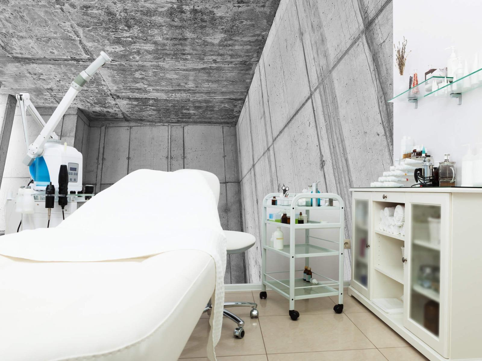 Betonlook behang - 3D beton - Kantoor 4