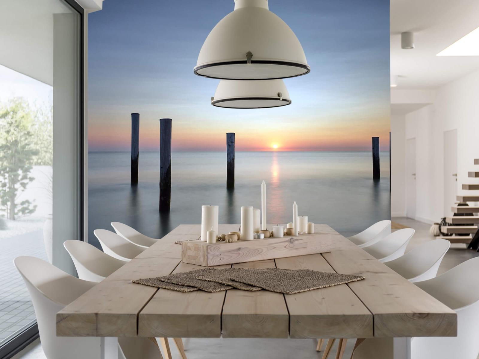 Zeeën en Oceanen - Strandpalen - Slaapkamer 6