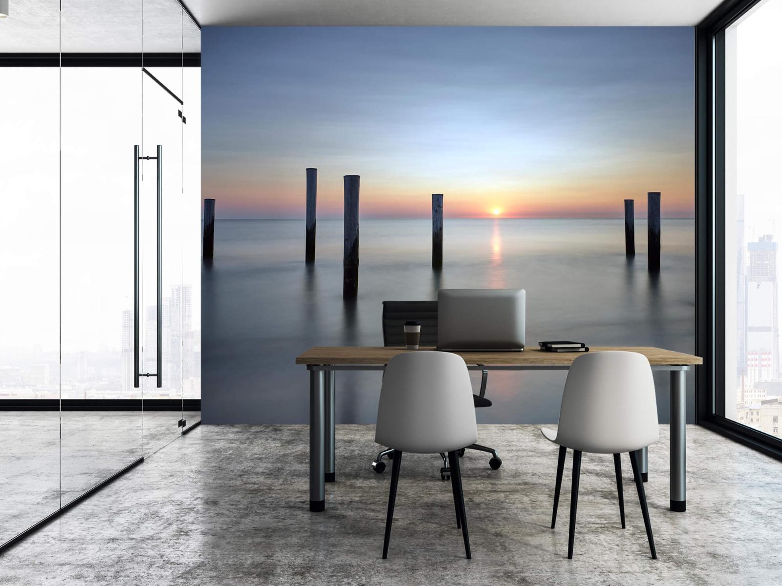 Zeeën en Oceanen - Strandpalen - Slaapkamer 8