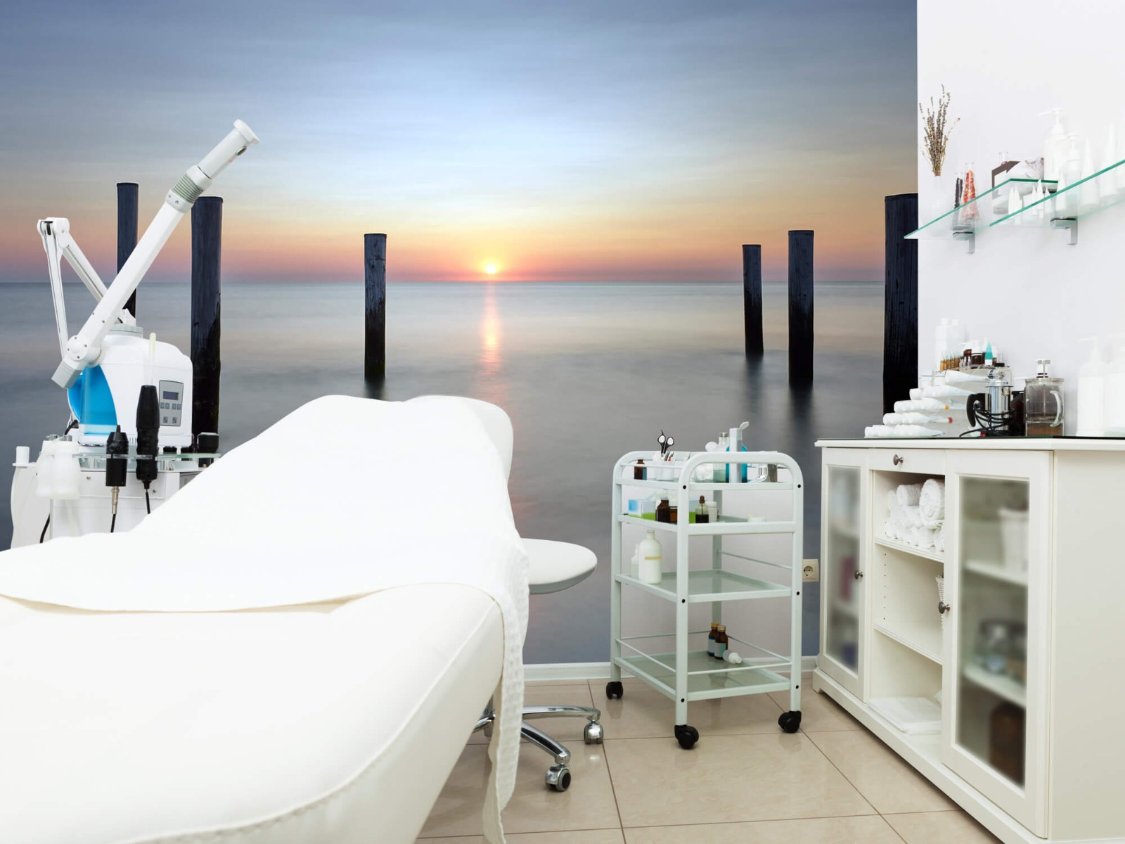 Zeeën en Oceanen - Strandpalen - Slaapkamer 9