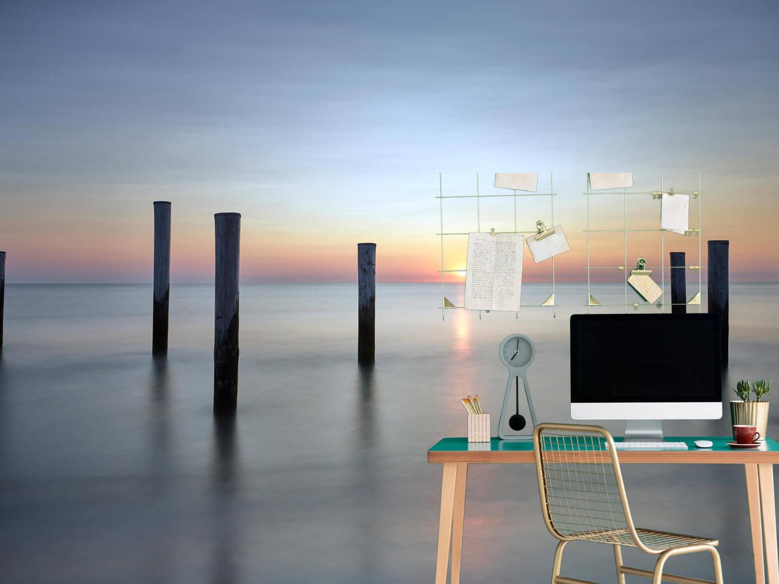 Zeeën en Oceanen - Strandpalen - Slaapkamer 12