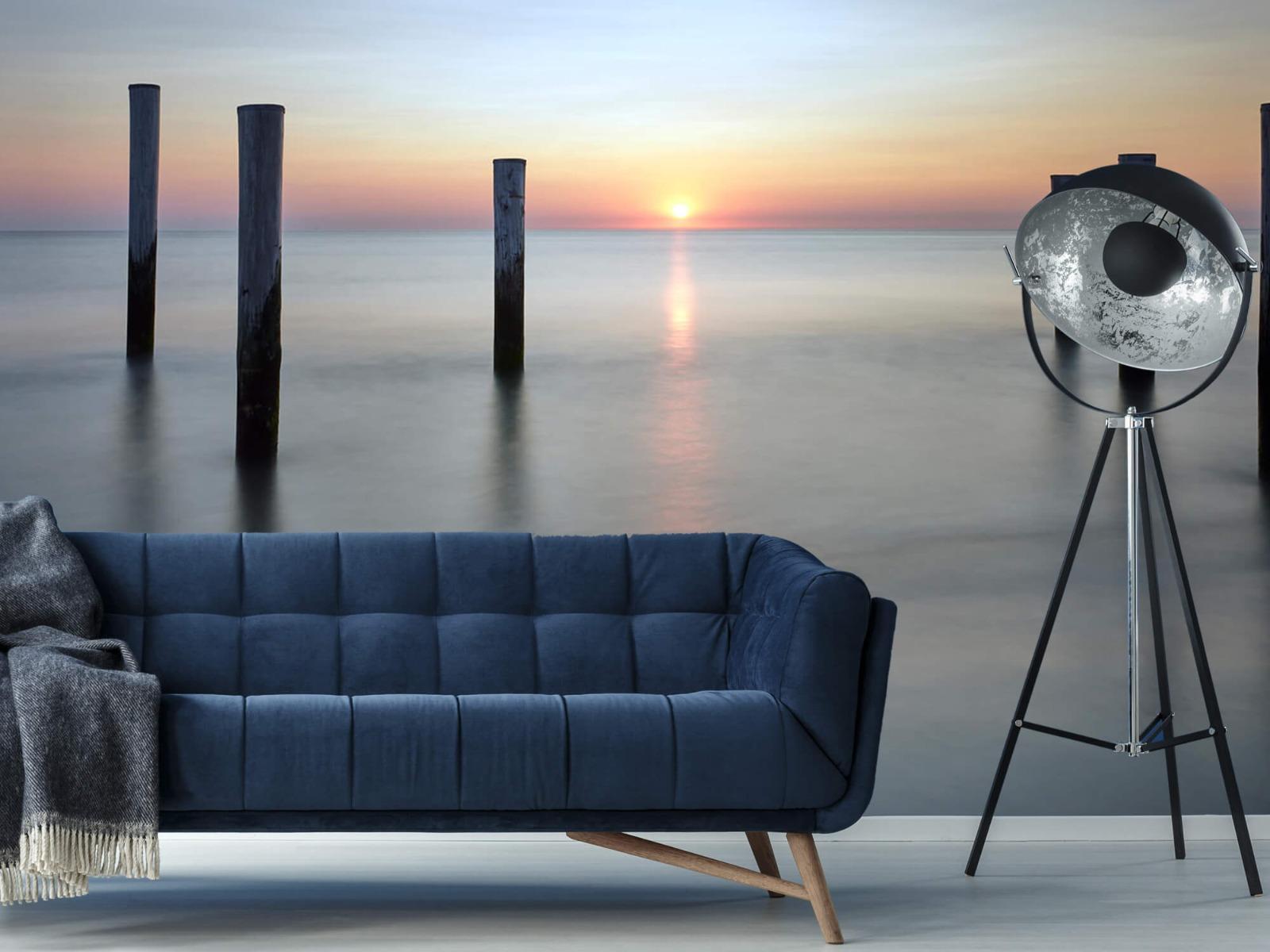 Zeeën en Oceanen - Strandpalen - Slaapkamer 15