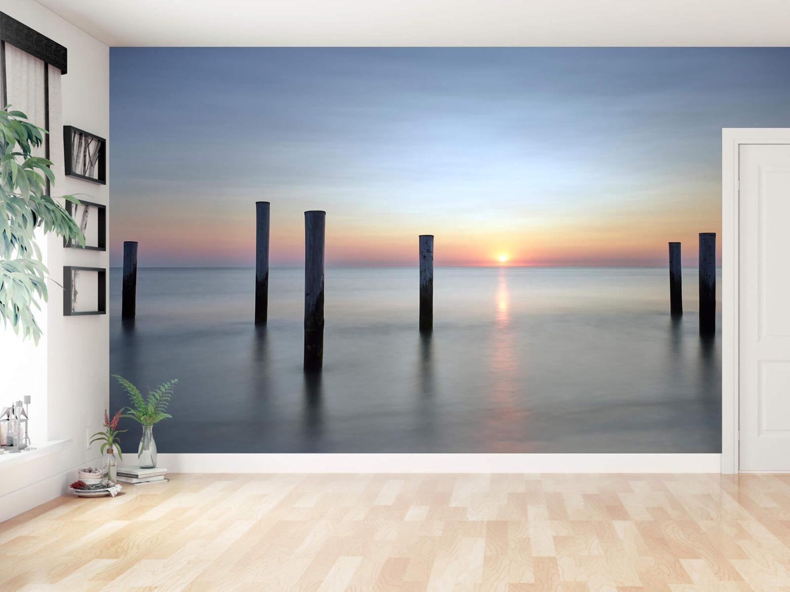 Zeeën en Oceanen - Strandpalen - Slaapkamer 16
