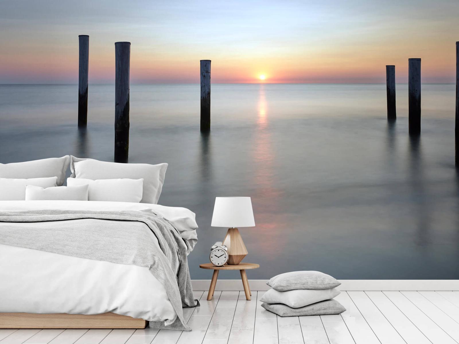 Zeeën en Oceanen - Strandpalen - Slaapkamer 18