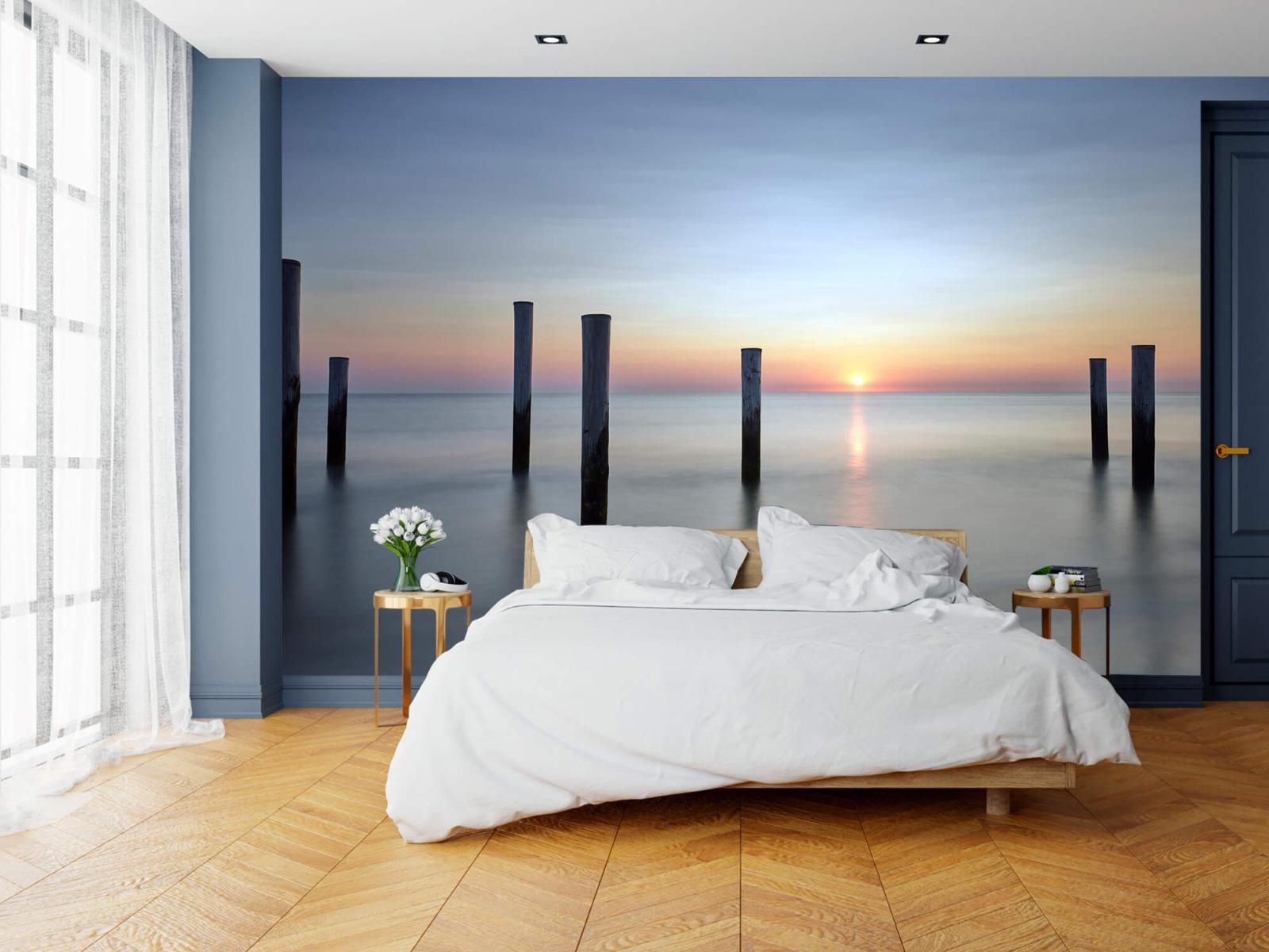 Zeeën en Oceanen - Strandpalen - Slaapkamer 19