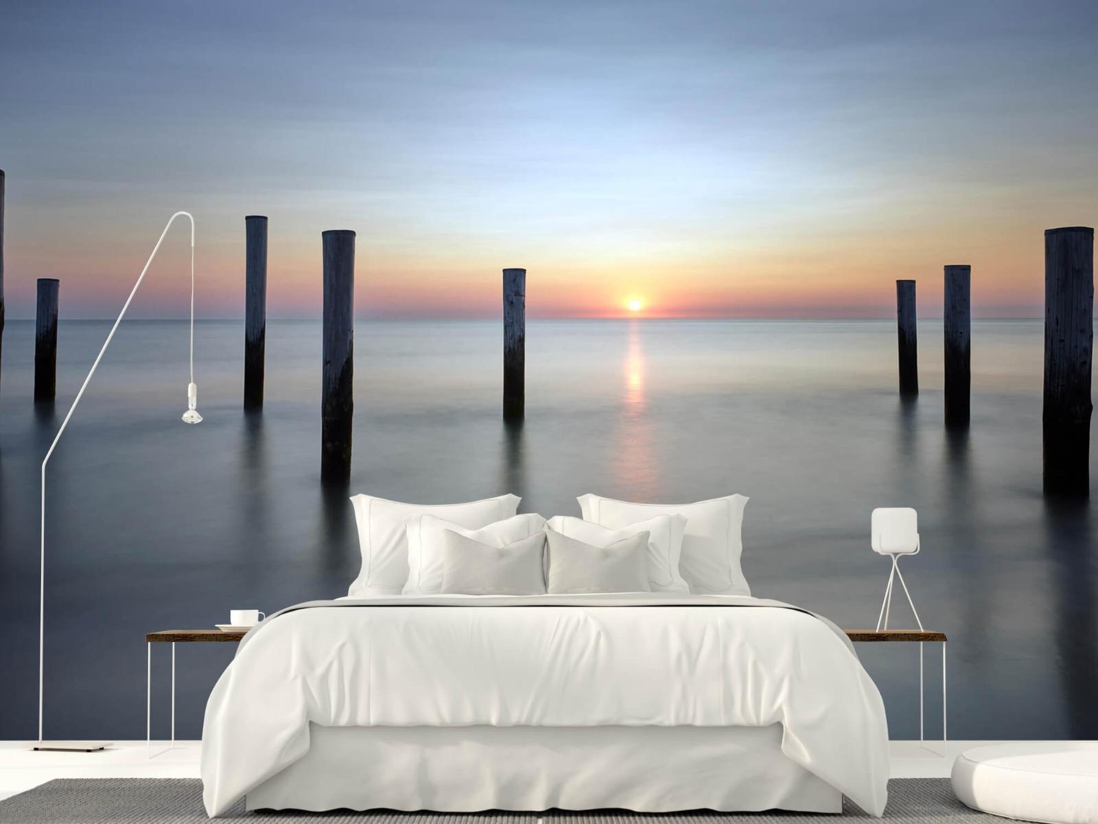 Zeeën en Oceanen - Strandpalen - Slaapkamer 1