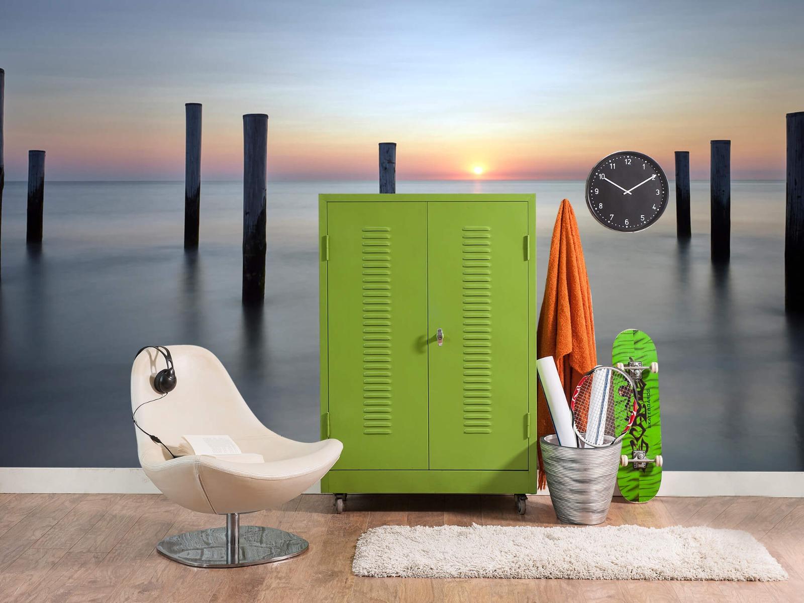 Zeeën en Oceanen - Strandpalen - Slaapkamer 20