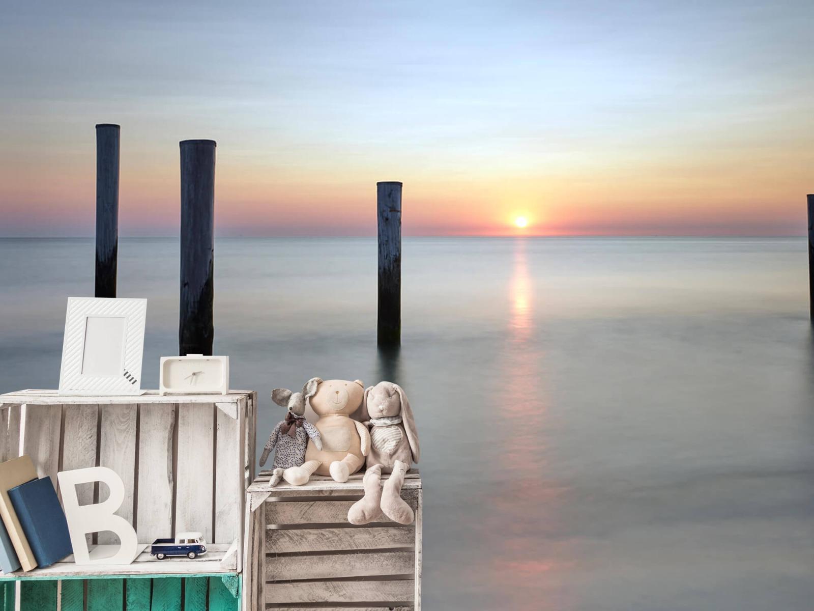 Zeeën en Oceanen - Strandpalen - Slaapkamer 21