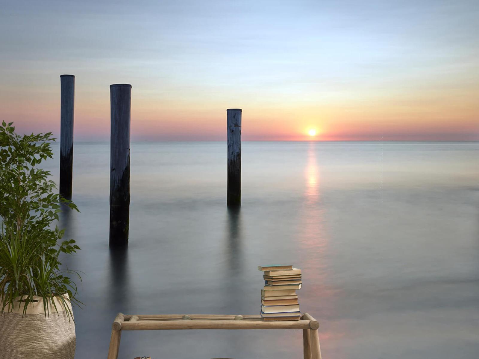 Zeeën en Oceanen - Strandpalen - Slaapkamer 22