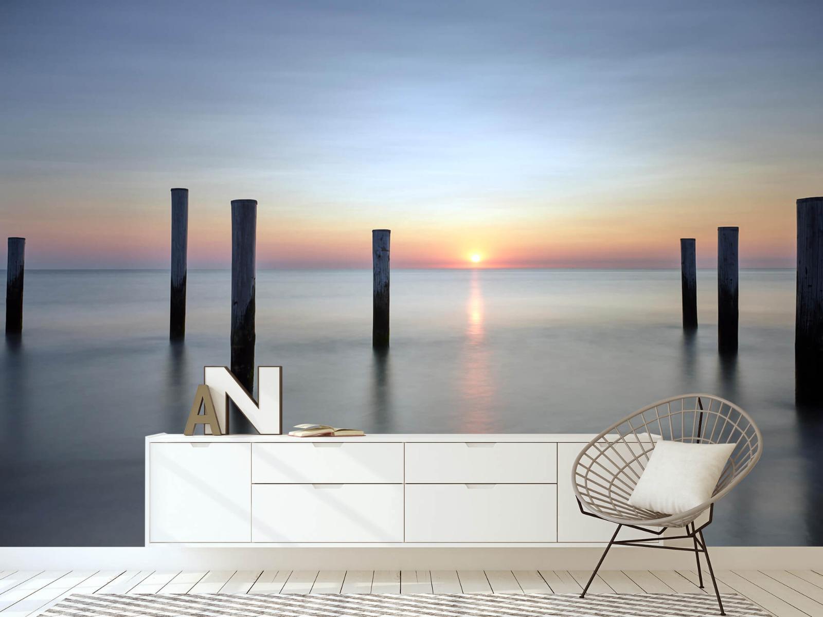 Zeeën en Oceanen - Strandpalen - Slaapkamer 5