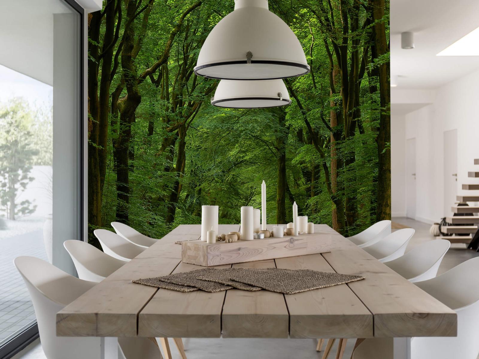 Bomen - Weg door het bos - Slaapkamer 3