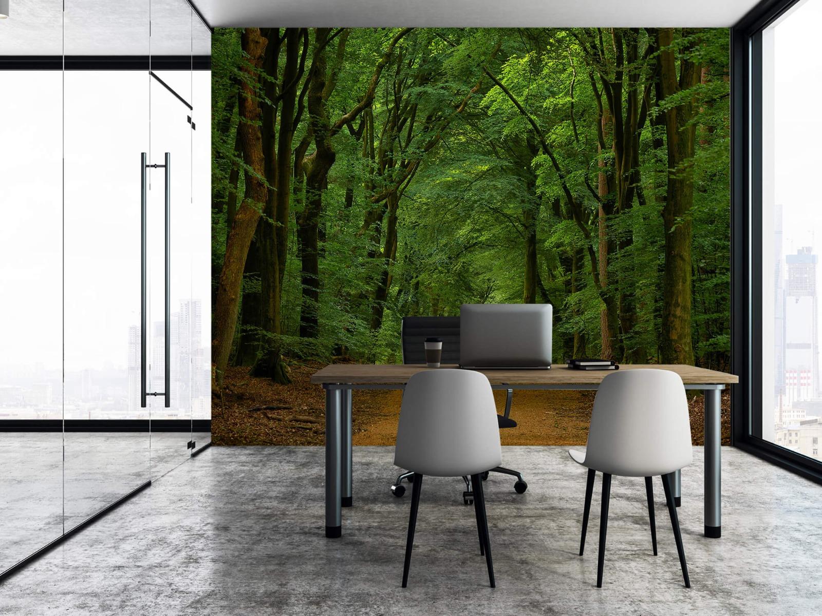 Bomen - Weg door het bos - Slaapkamer 8
