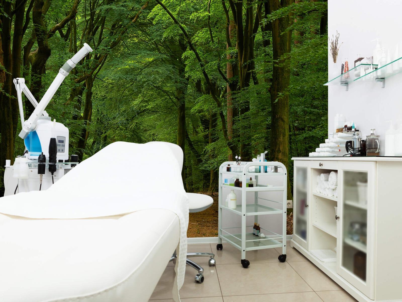 Bomen - Weg door het bos - Slaapkamer 9