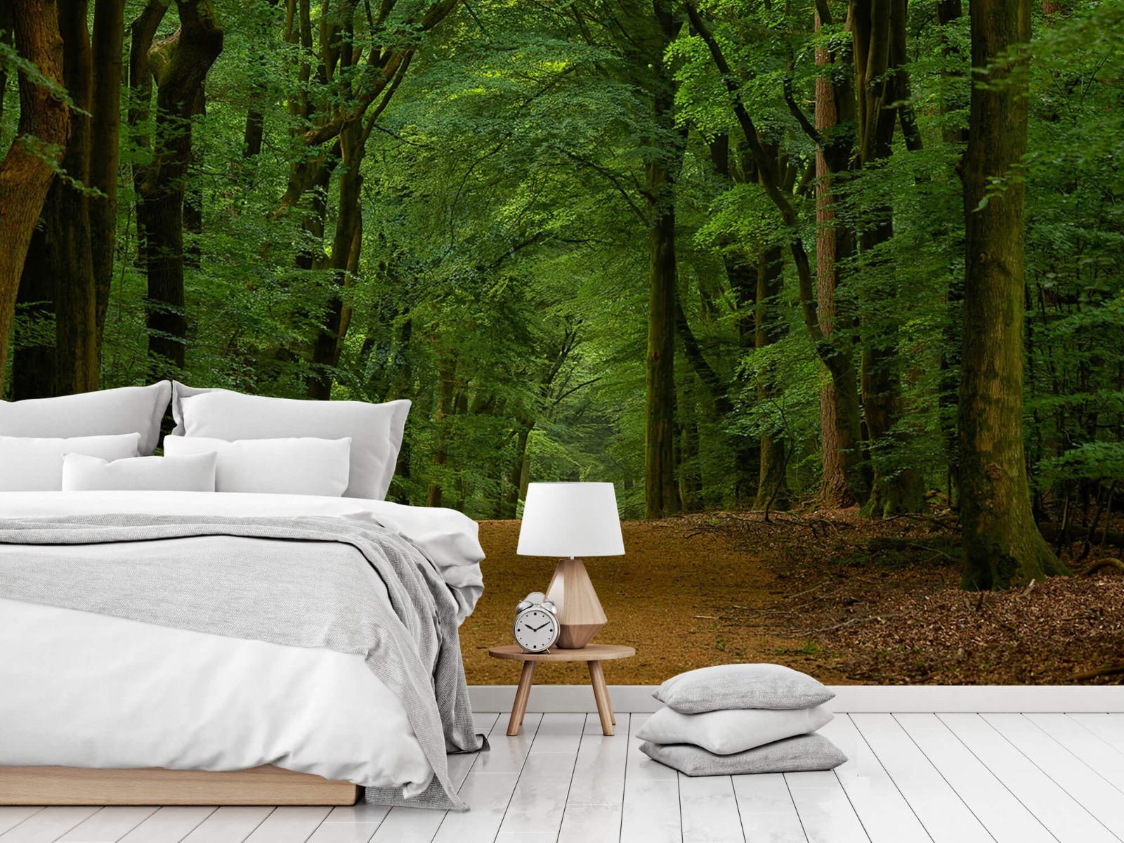 Bomen - Weg door het bos - Slaapkamer 2