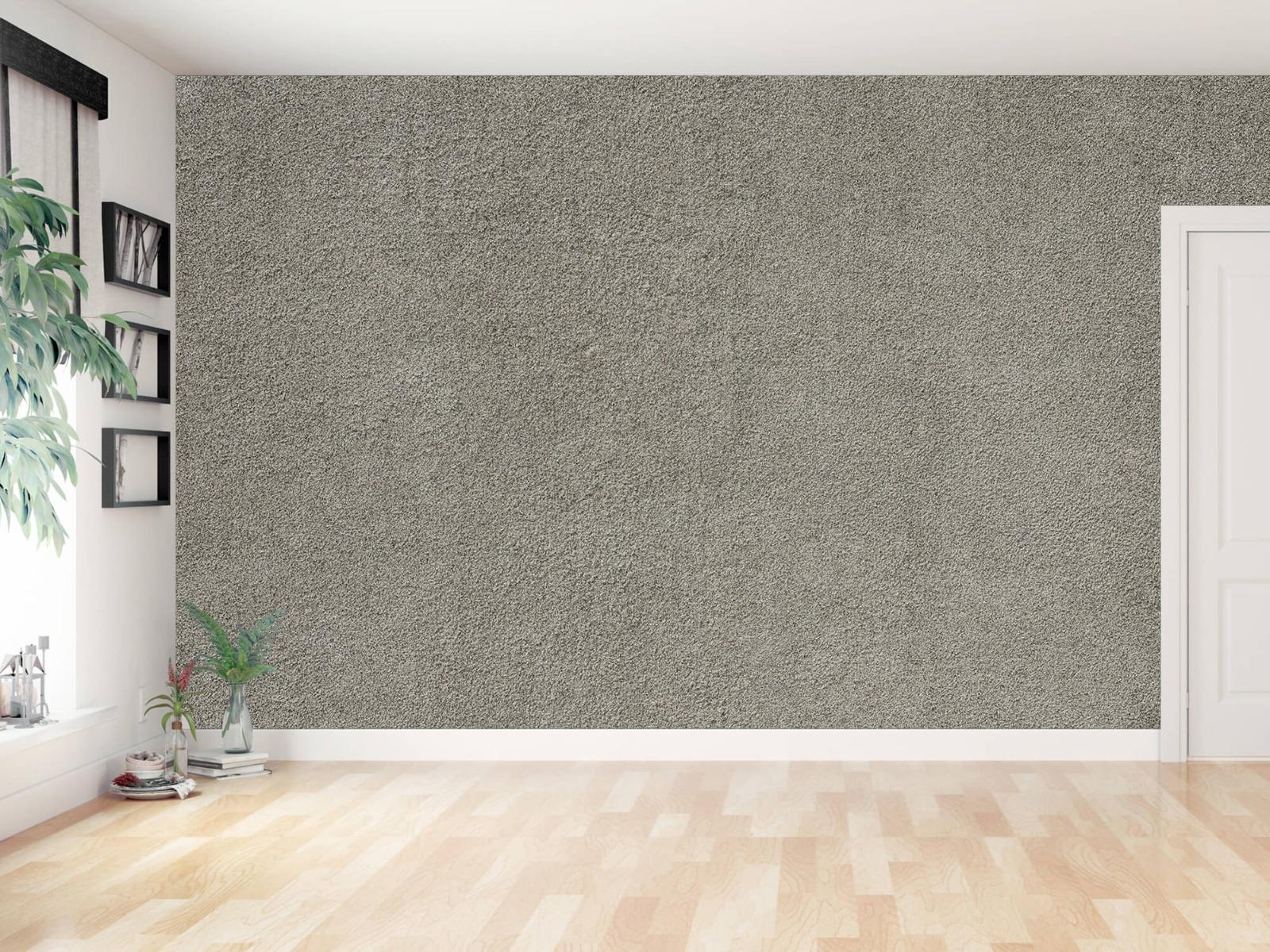 Betonlook behang - Betonnen muur met fijne steentjes - Kantoor 11